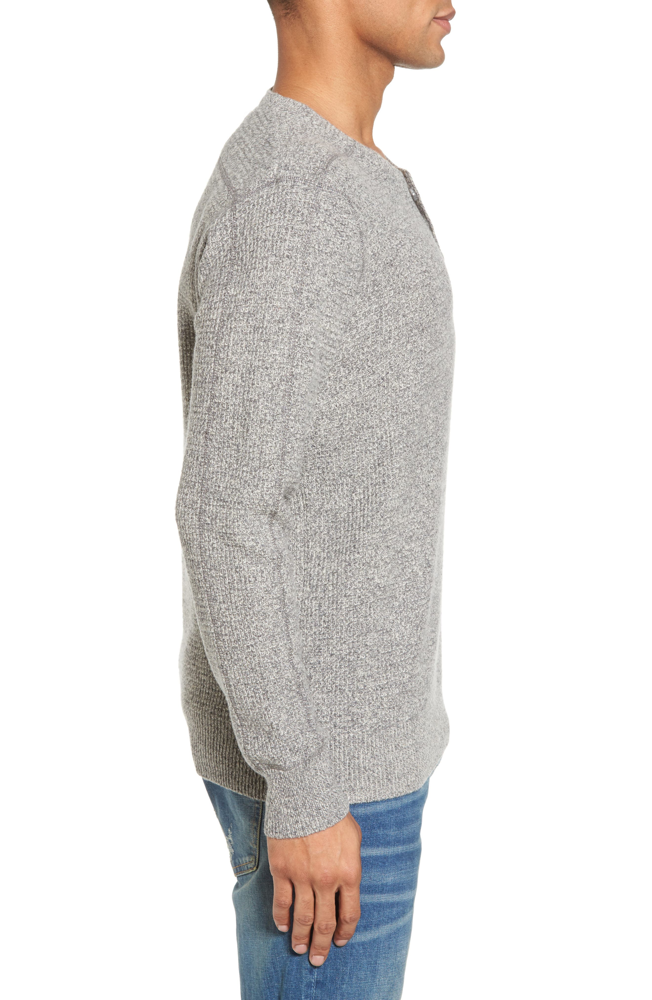 Thermal Henley,                             Alternate thumbnail 16, color,