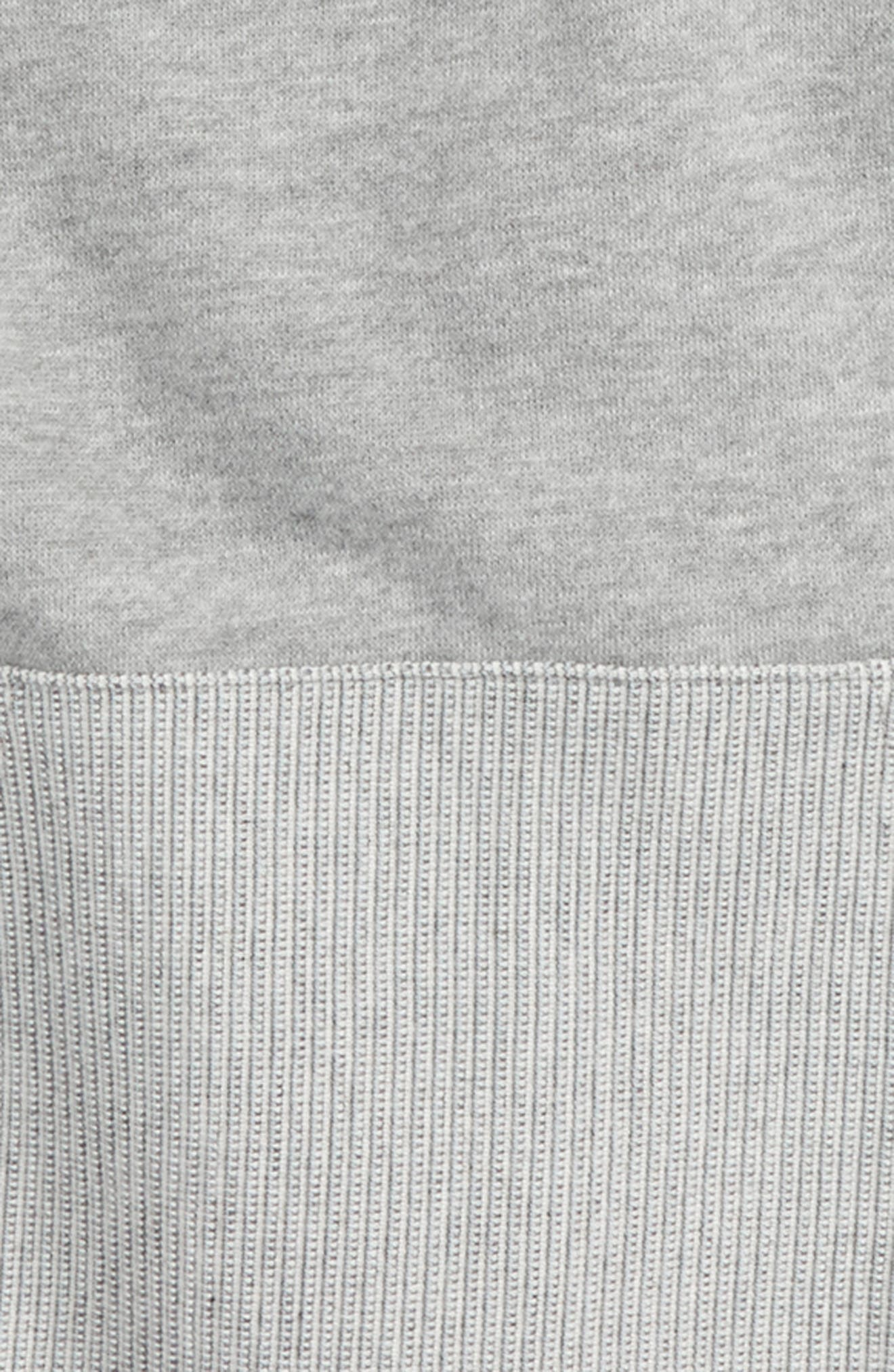 Textured Knit Hoodie,                             Alternate thumbnail 2, color,