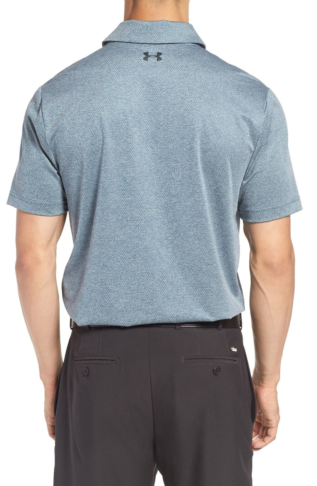 'Playoff' Loose Fit Short Sleeve Polo,                             Alternate thumbnail 286, color,