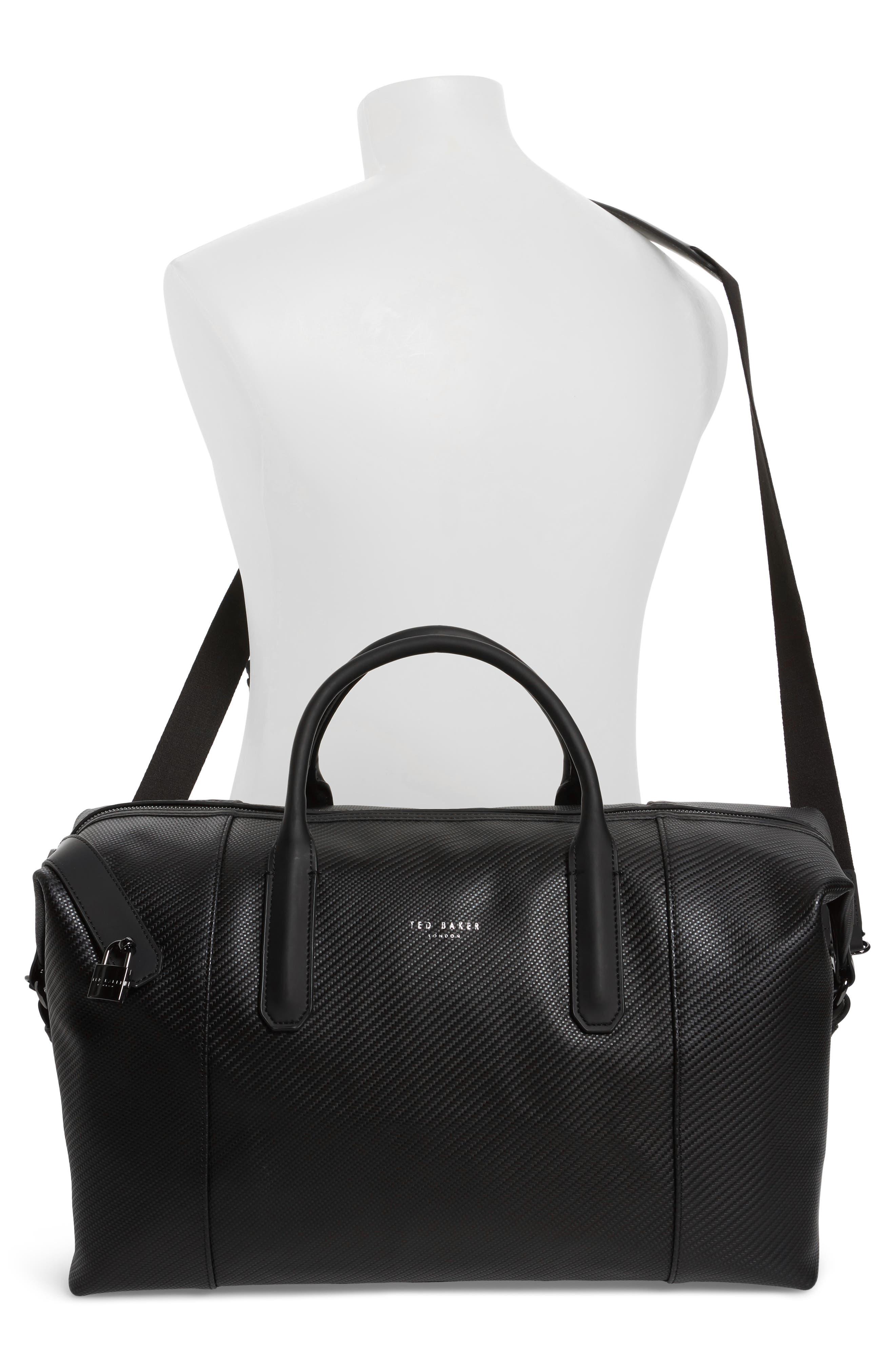Novana Leather Duffel Bag,                             Alternate thumbnail 2, color,