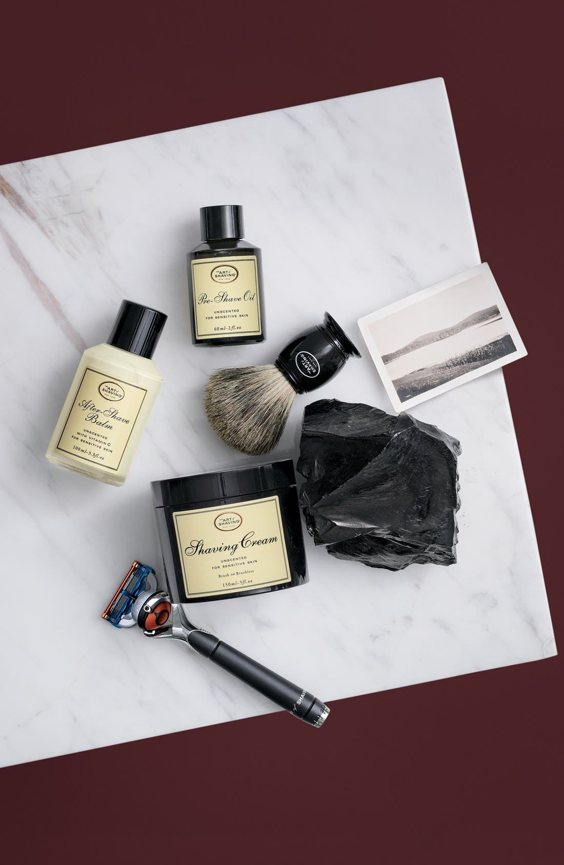 The 4 Elements of the Perfect Shave<sup>®</sup> Kit,                             Main thumbnail 1, color,                             SANDALWOOD