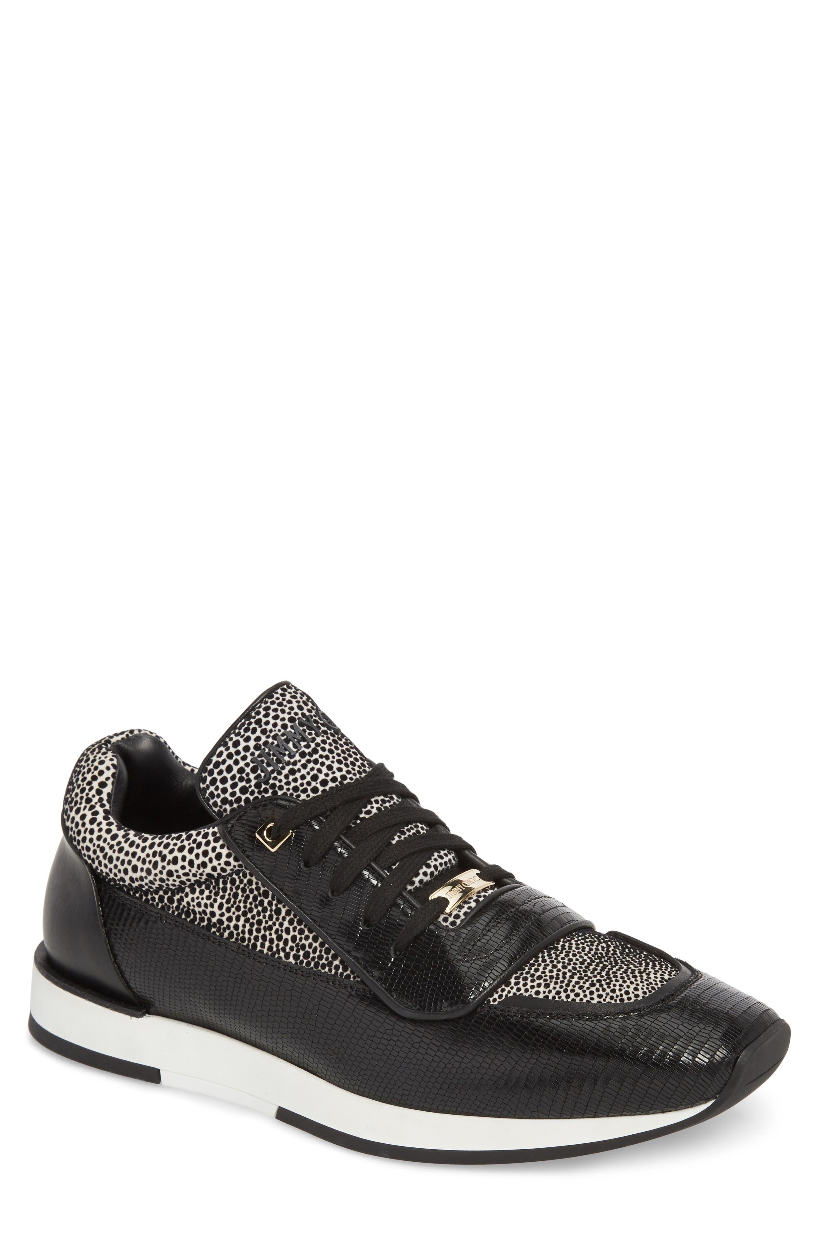 JIMMY CHOO Jett Sneaker, Main, color, 001
