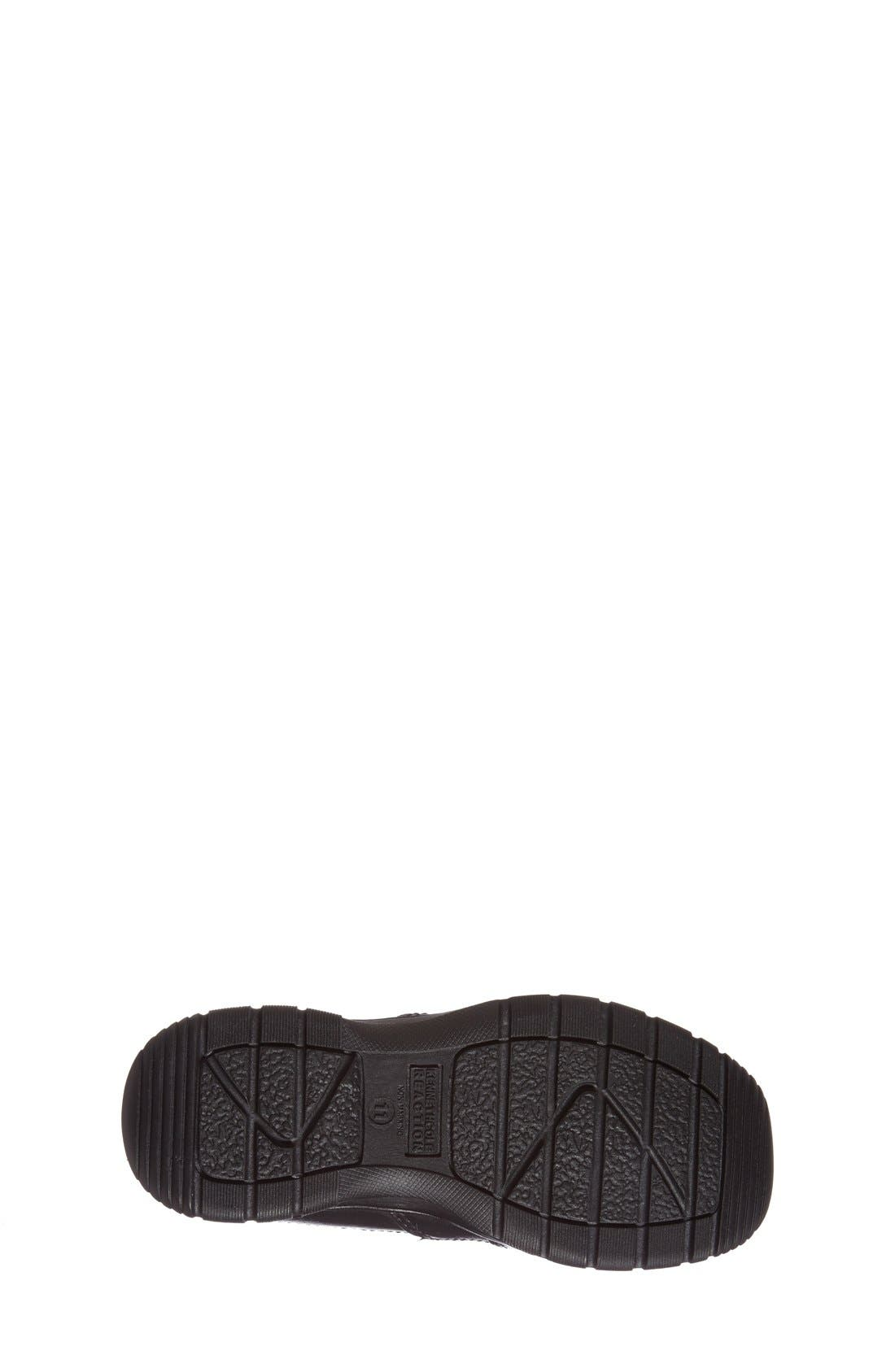 Reaction Kenneth Cole'Check N Check' Loafer,                             Alternate thumbnail 4, color,                             001