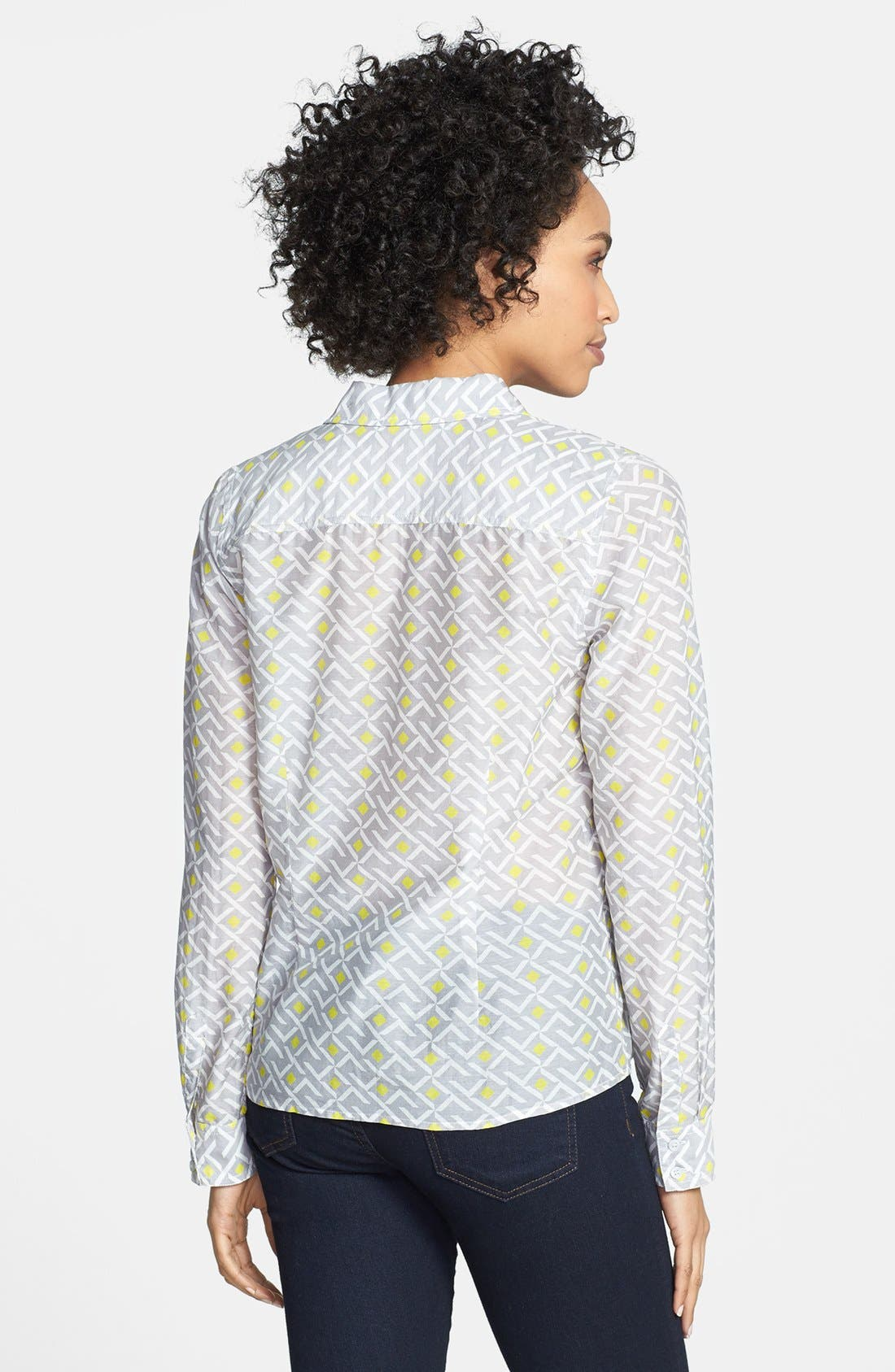 Cotton & Silk Shirt,                             Alternate thumbnail 94, color,