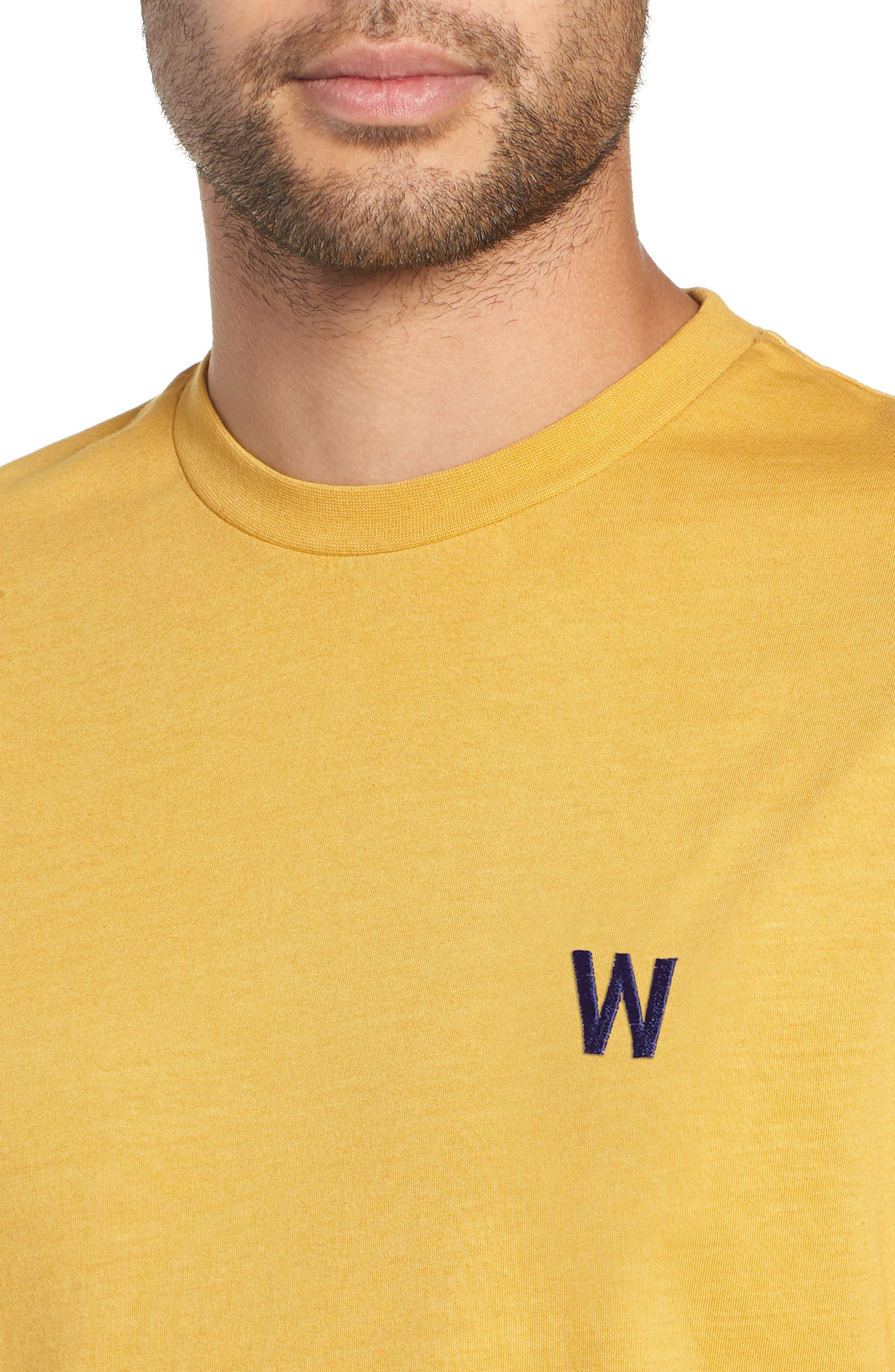 Reid T-Shirt,                             Alternate thumbnail 4, color,                             LEMON