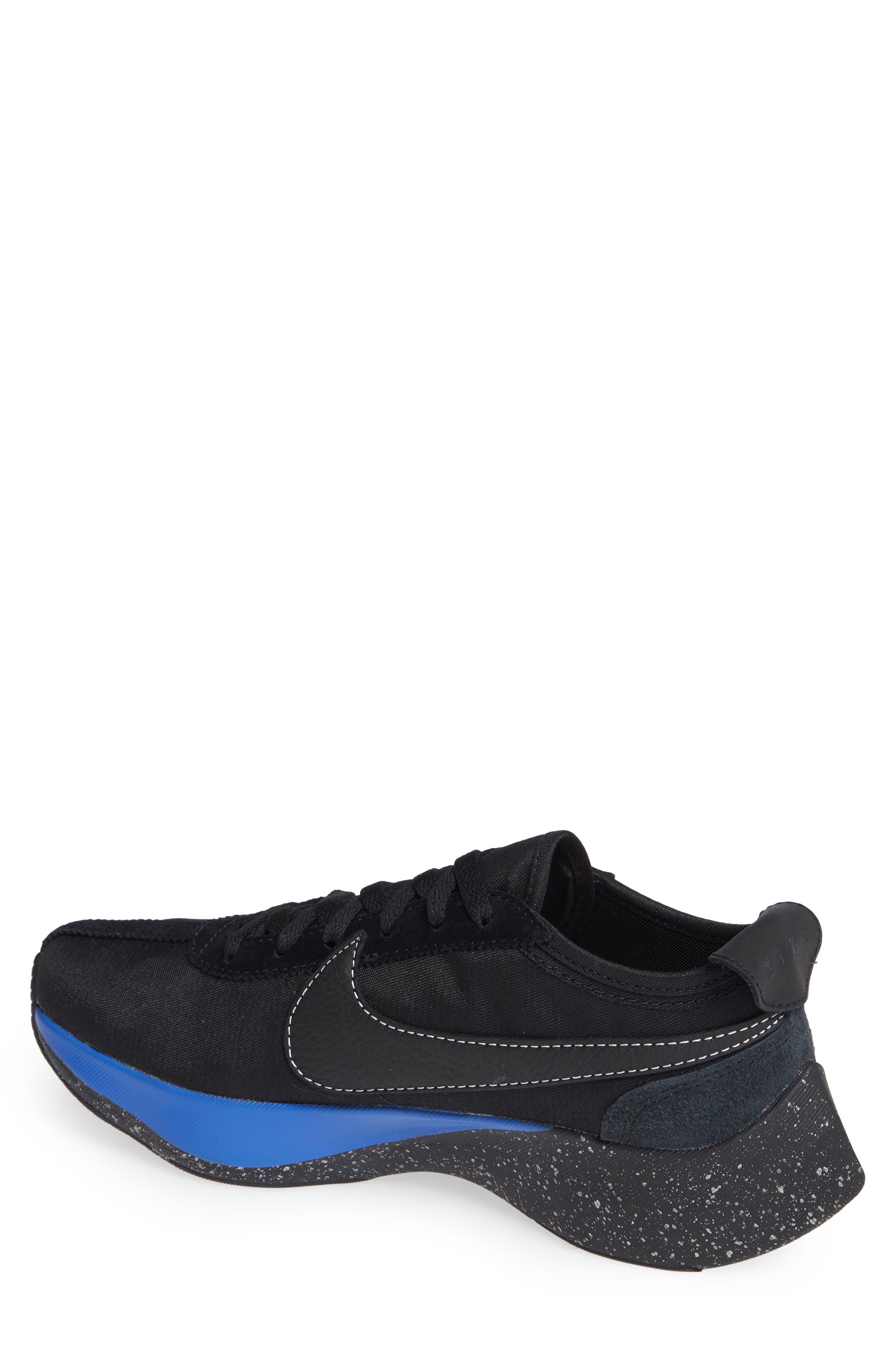 NIKE,                             Moon Racer QS Sneaker,                             Alternate thumbnail 2, color,                             001