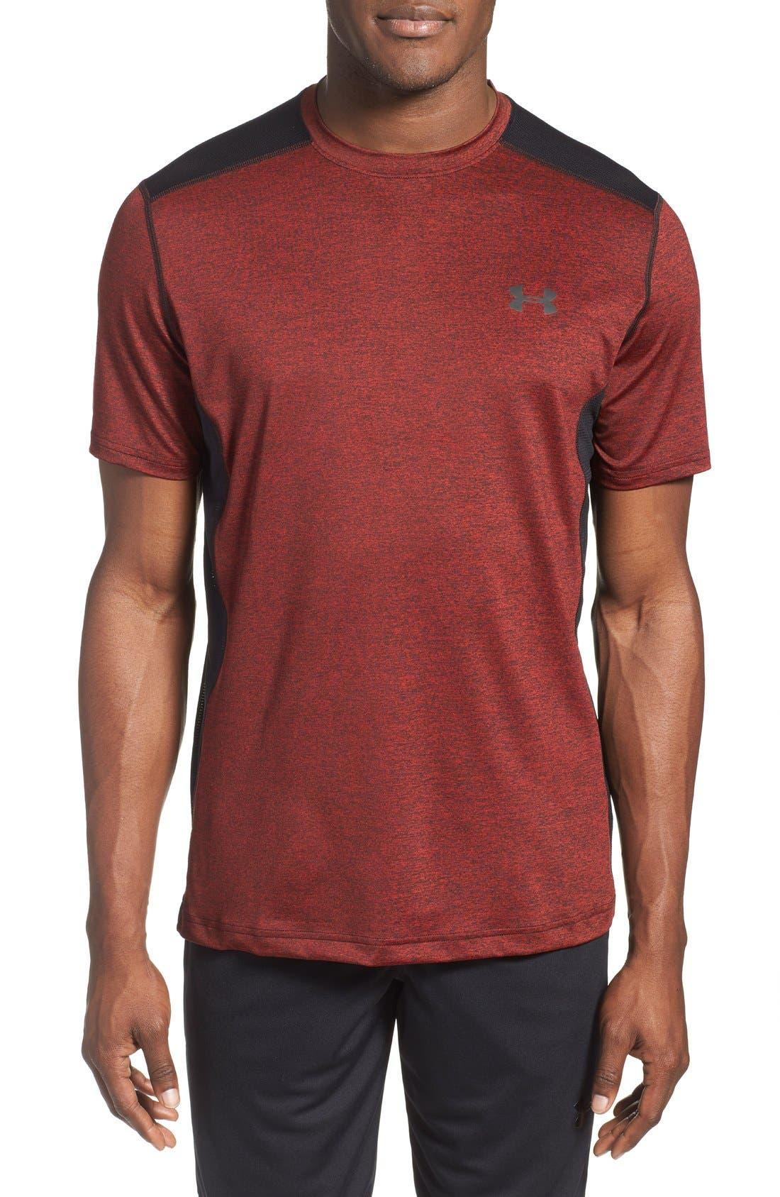 'Raid' HeatGear<sup>®</sup> Training T-Shirt,                             Main thumbnail 24, color,