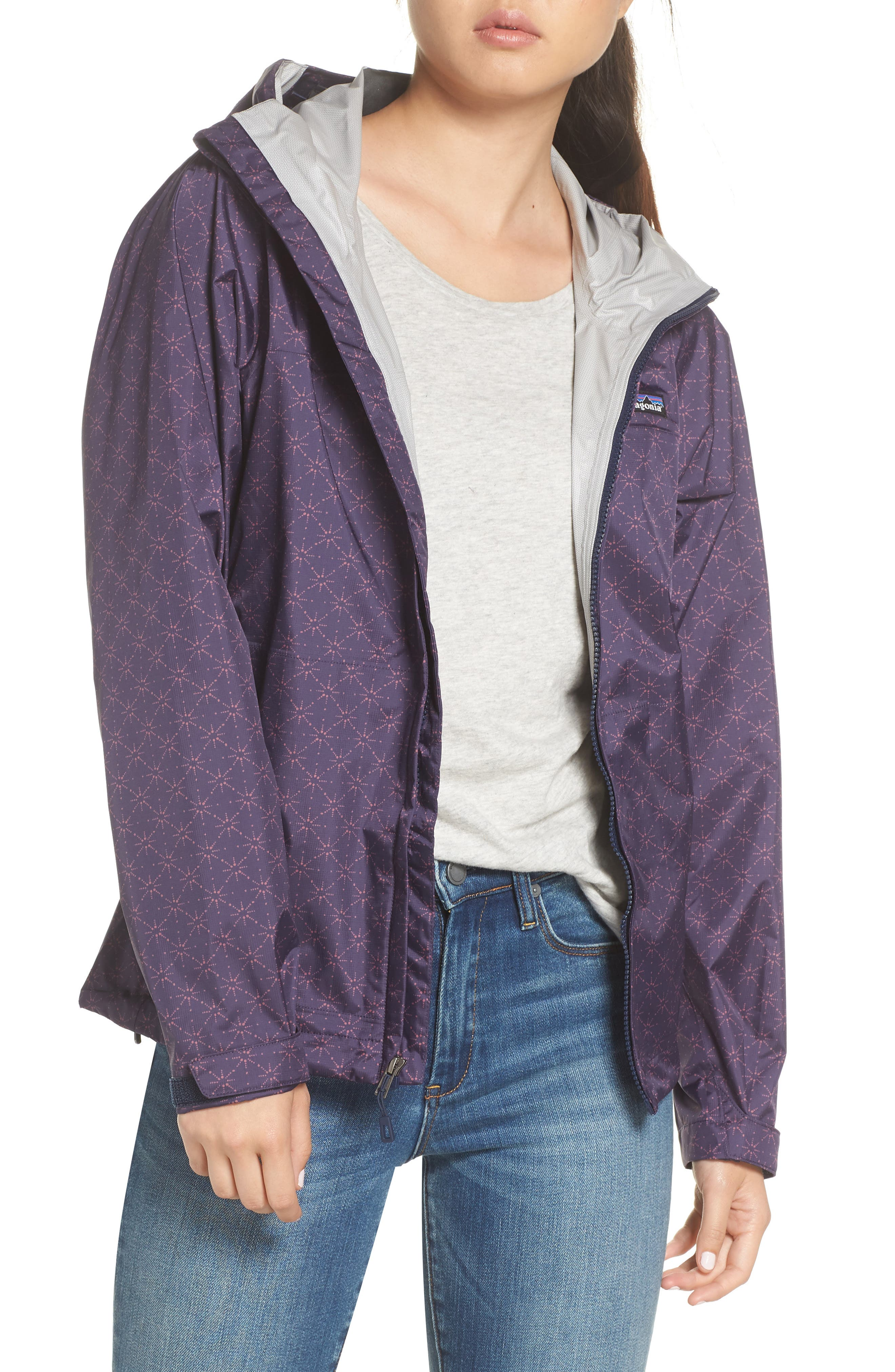 Torrentshell Jacket,                         Main,                         color, SOLAR POW CLASSIC NAVY