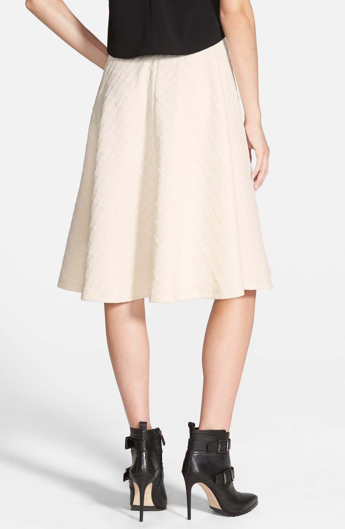 Textured Midi Skirt,                             Alternate thumbnail 4, color,                             900