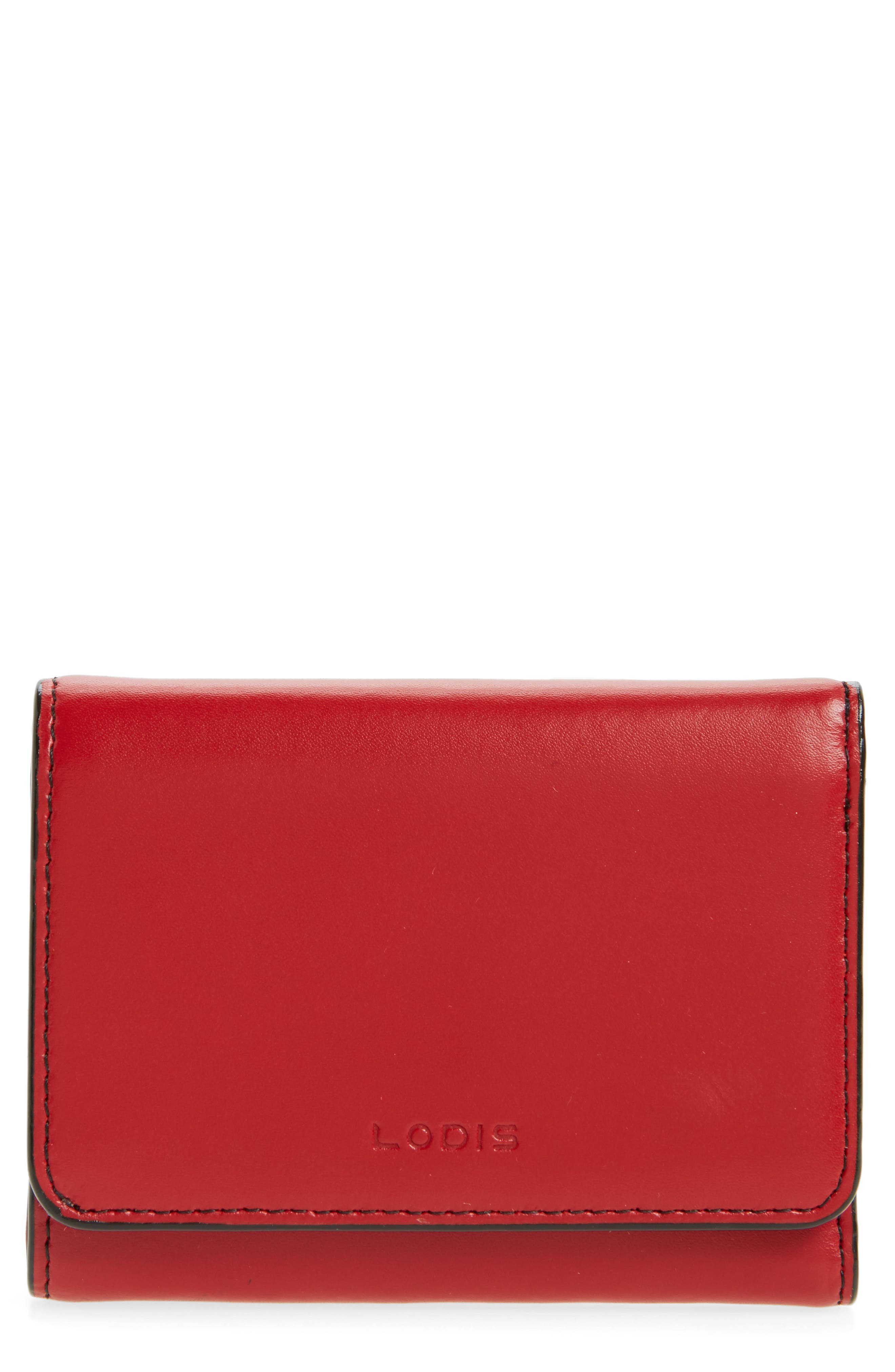 Mallory RFID Leather Wallet,                             Main thumbnail 1, color,                             600