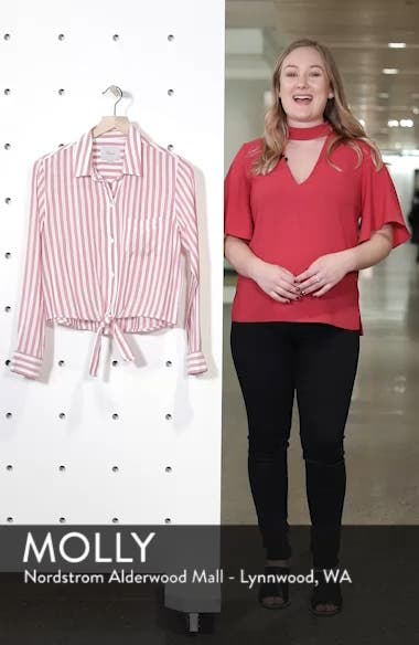 Val Tie Front Shirt, sales video thumbnail