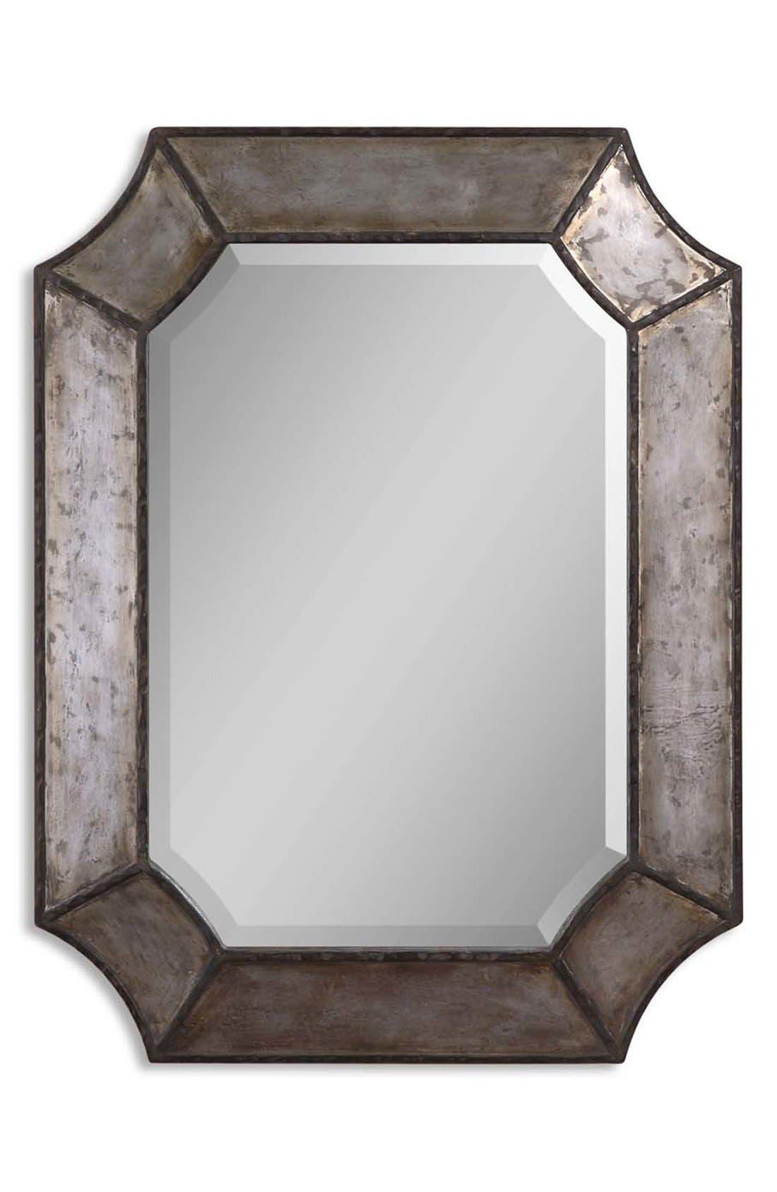'Elliot' Distressed Mirror,                             Main thumbnail 1, color,                             020