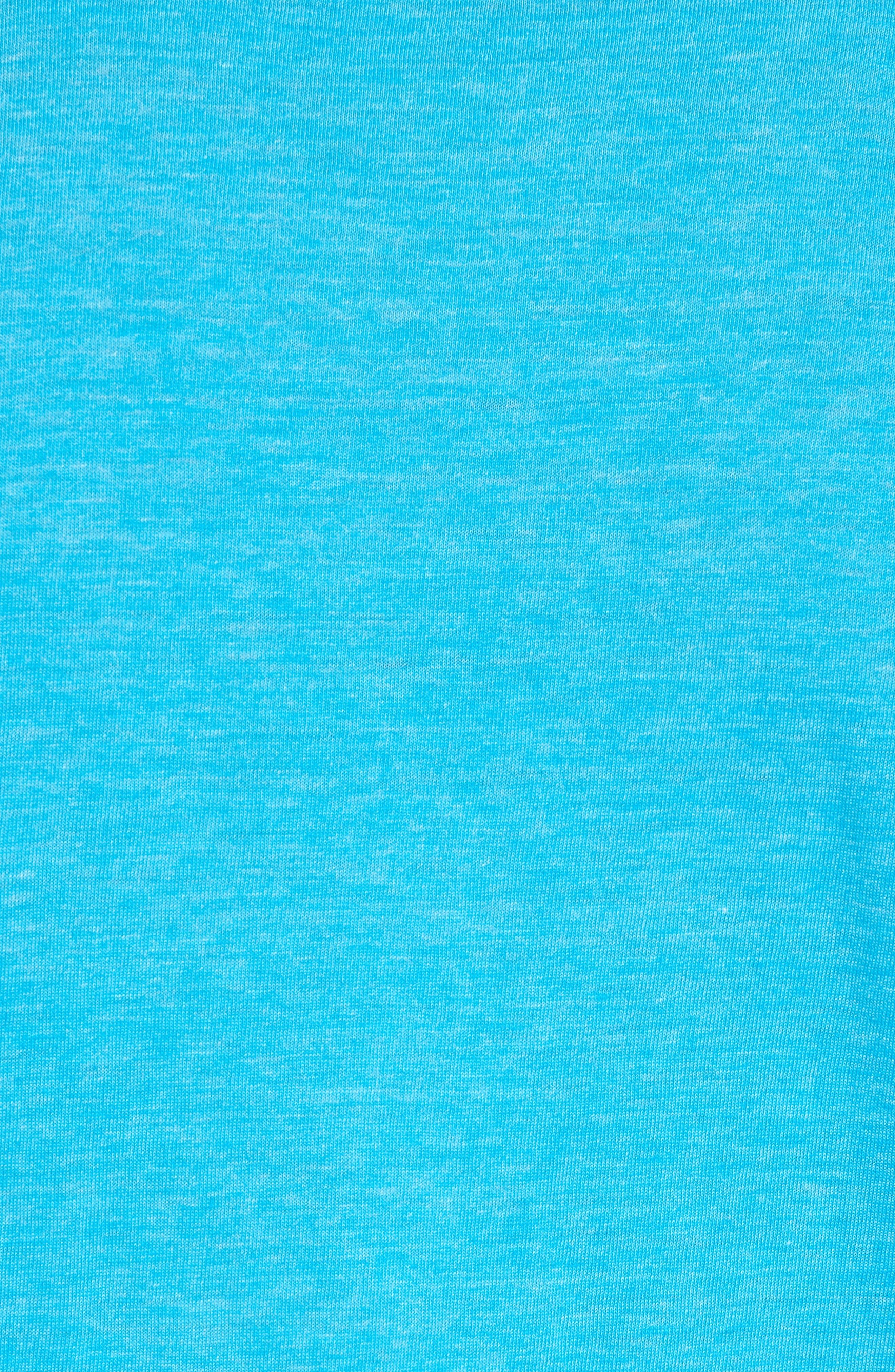Scallop Triblend Crewneck T-Shirt,                             Alternate thumbnail 101, color,