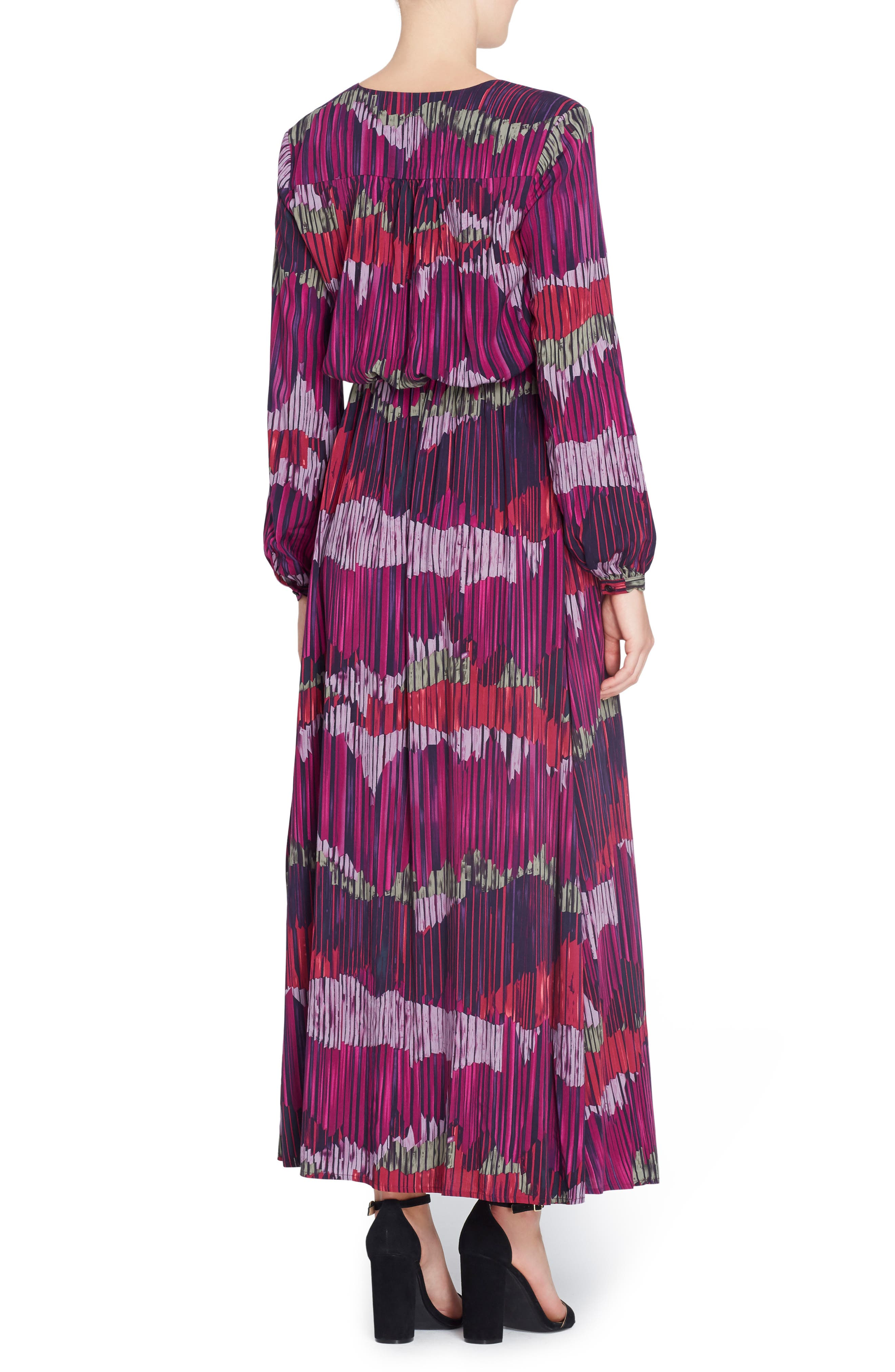 June Print Maxi Dress,                             Alternate thumbnail 2, color,                             591