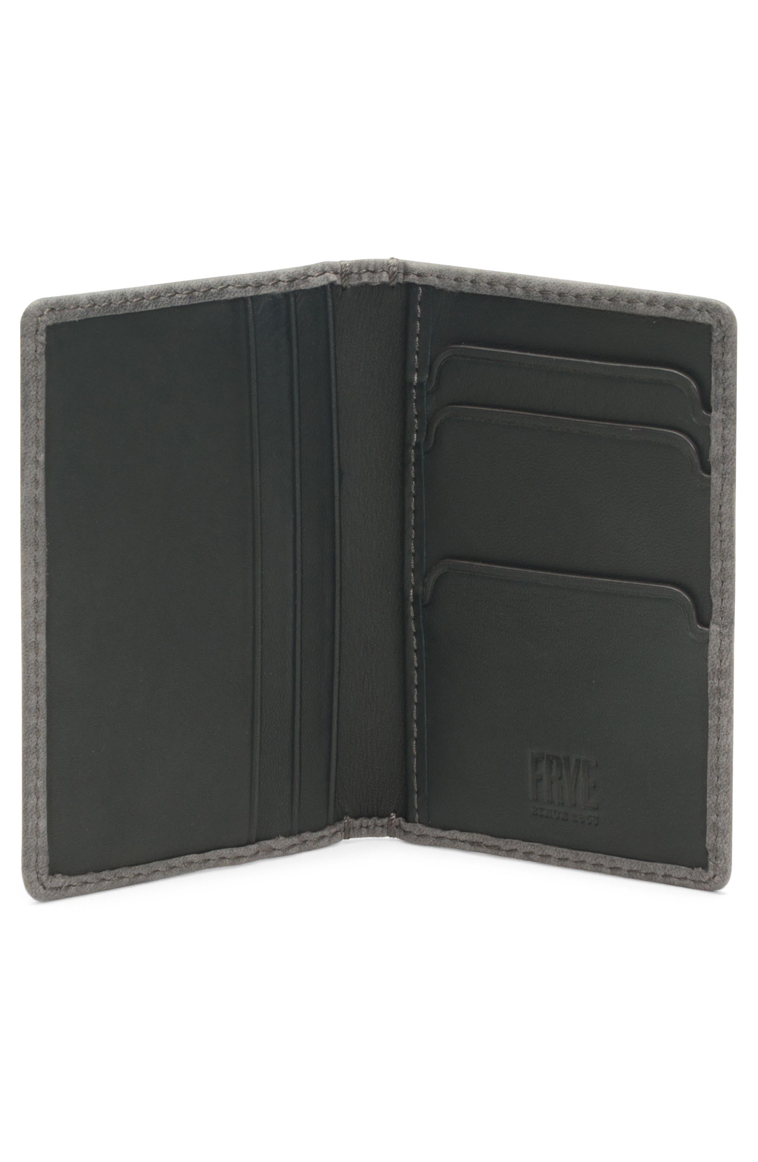 Oliver Leather Wallet,                             Alternate thumbnail 2, color,                             SLATE