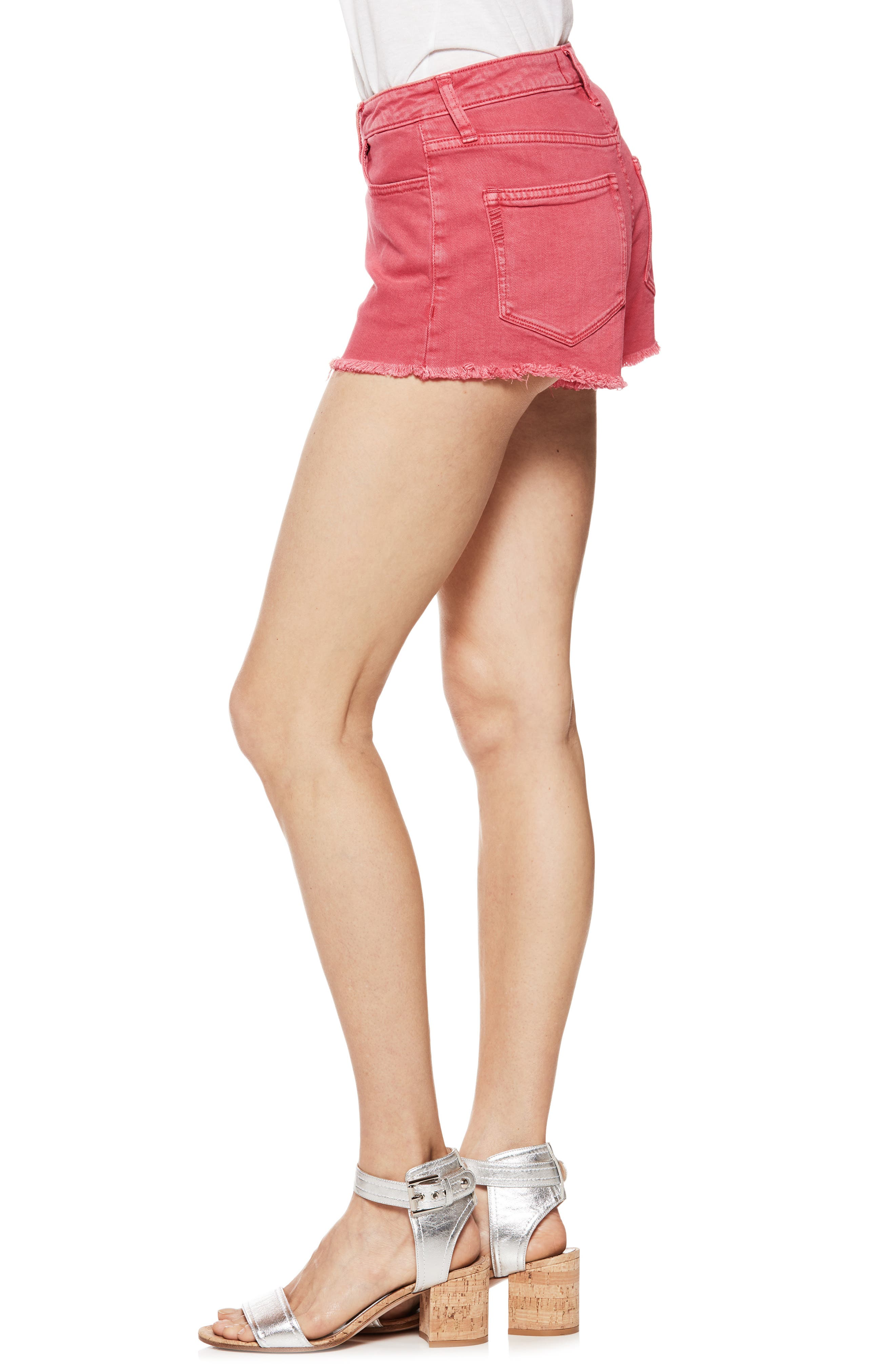Emmit Relaxed Denim Shorts,                             Alternate thumbnail 3, color,                             601