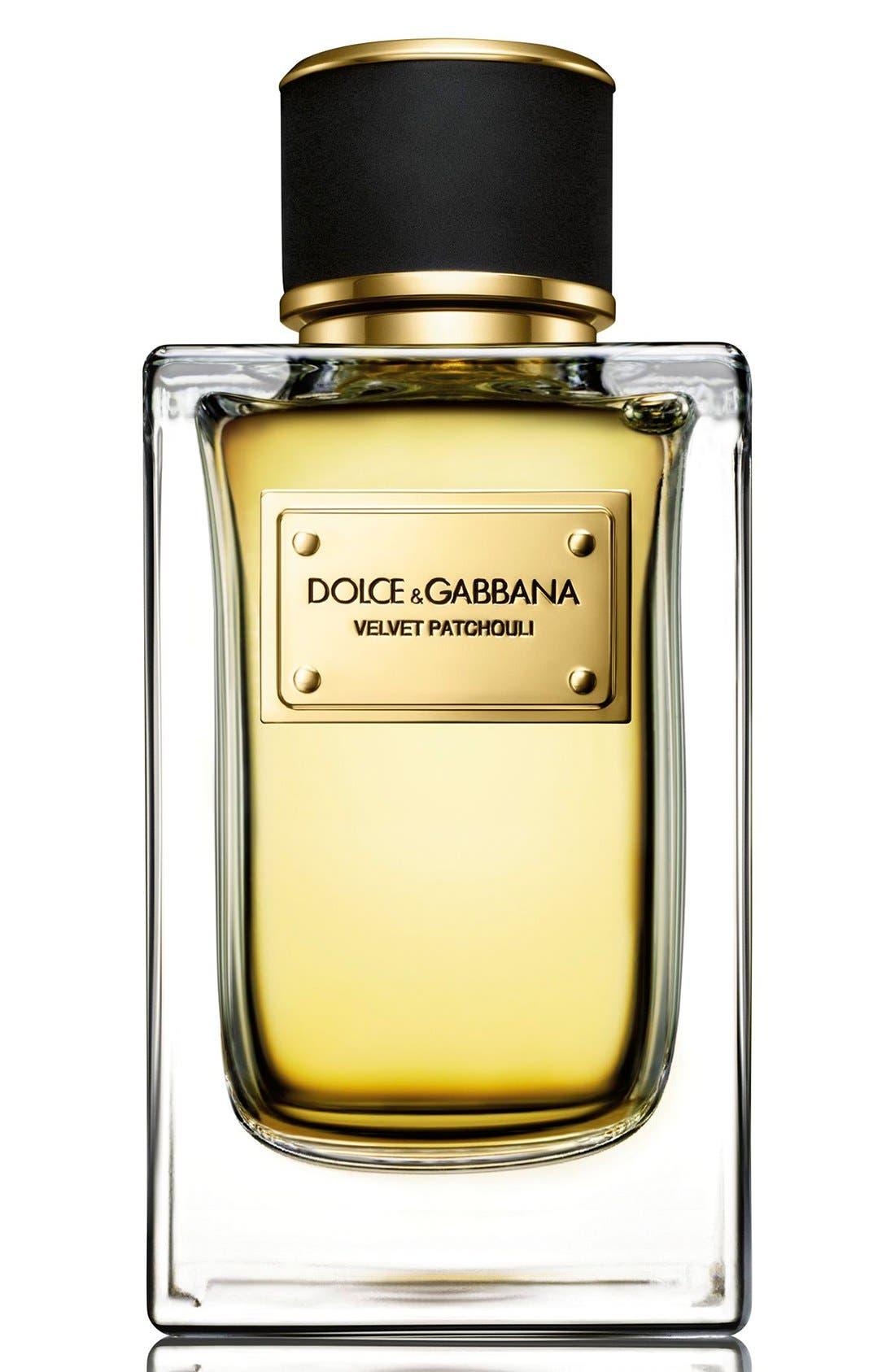 Dolce&GabbanaBeauty 'Velvet Patchouli' Eau de Parfum,                             Alternate thumbnail 2, color,                             000