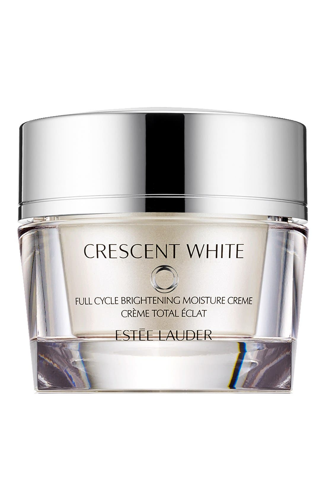 Crescent White Full Cycle Brightening Moisture Créme,                             Main thumbnail 1, color,                             000