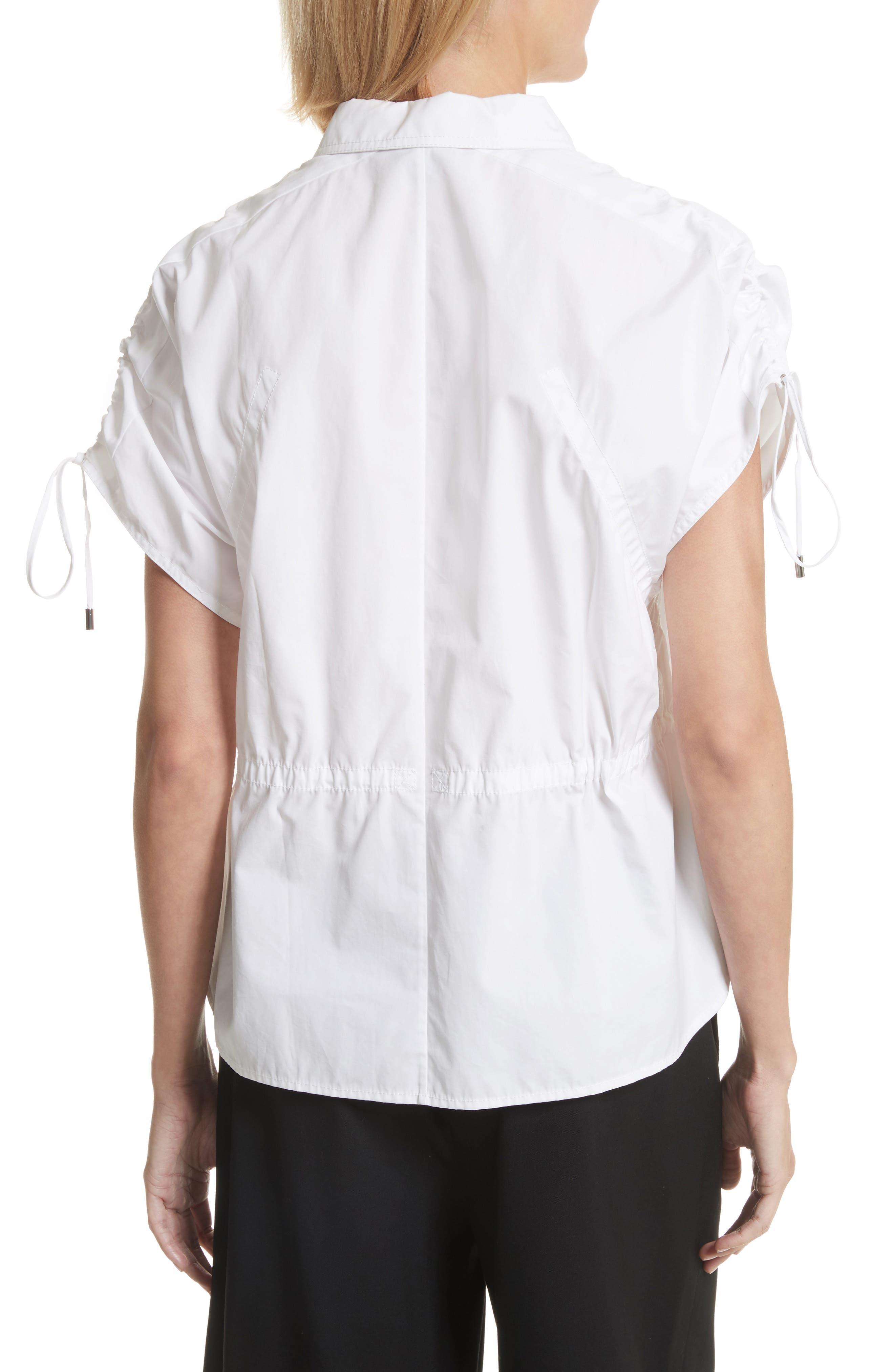 Cotton Poplin Shirt,                             Alternate thumbnail 2, color,                             110
