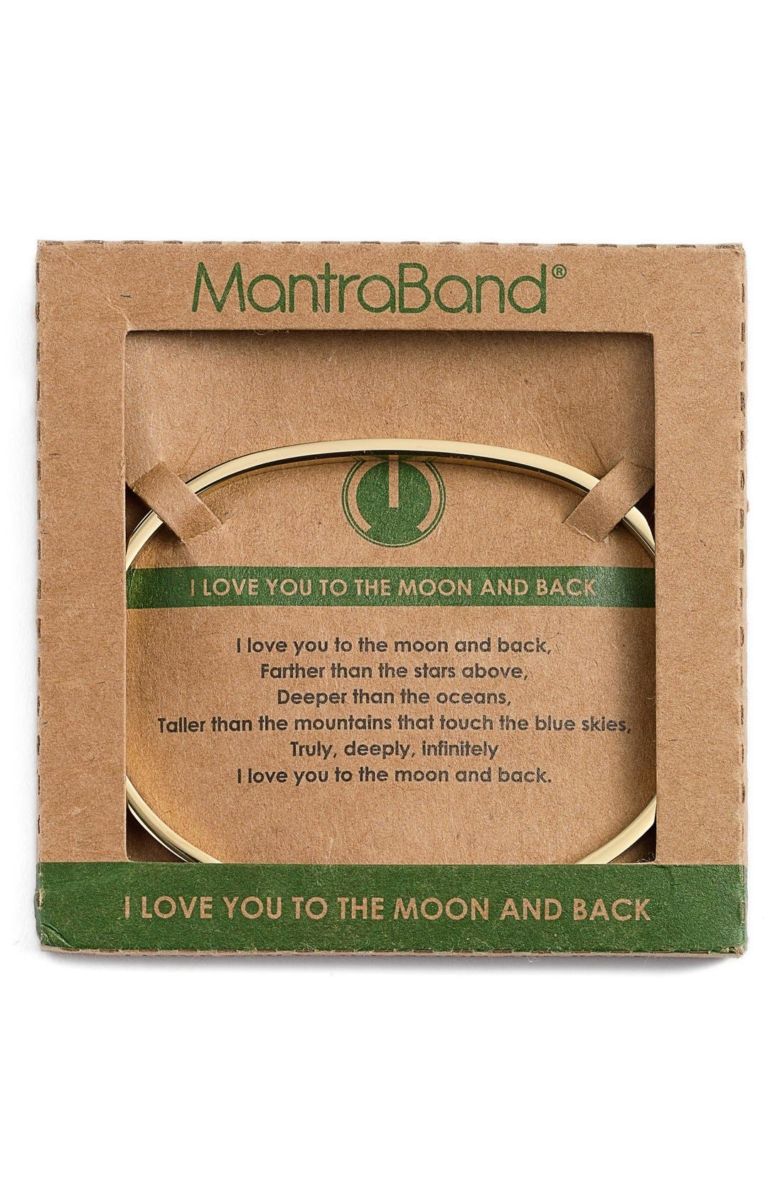 'I Love You to the Moon and Back' Cuff,                             Alternate thumbnail 2, color,                             GOLD