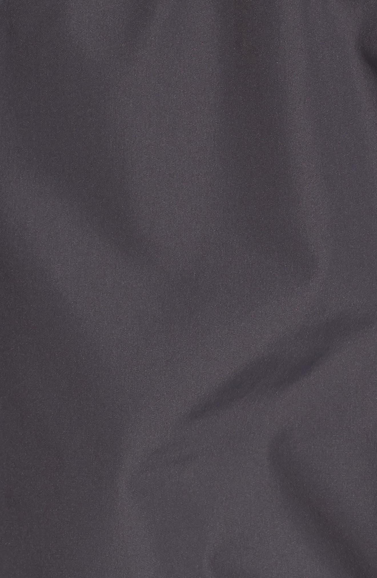 Faux Fur Trim Puffer Coat,                             Alternate thumbnail 6, color,                             036