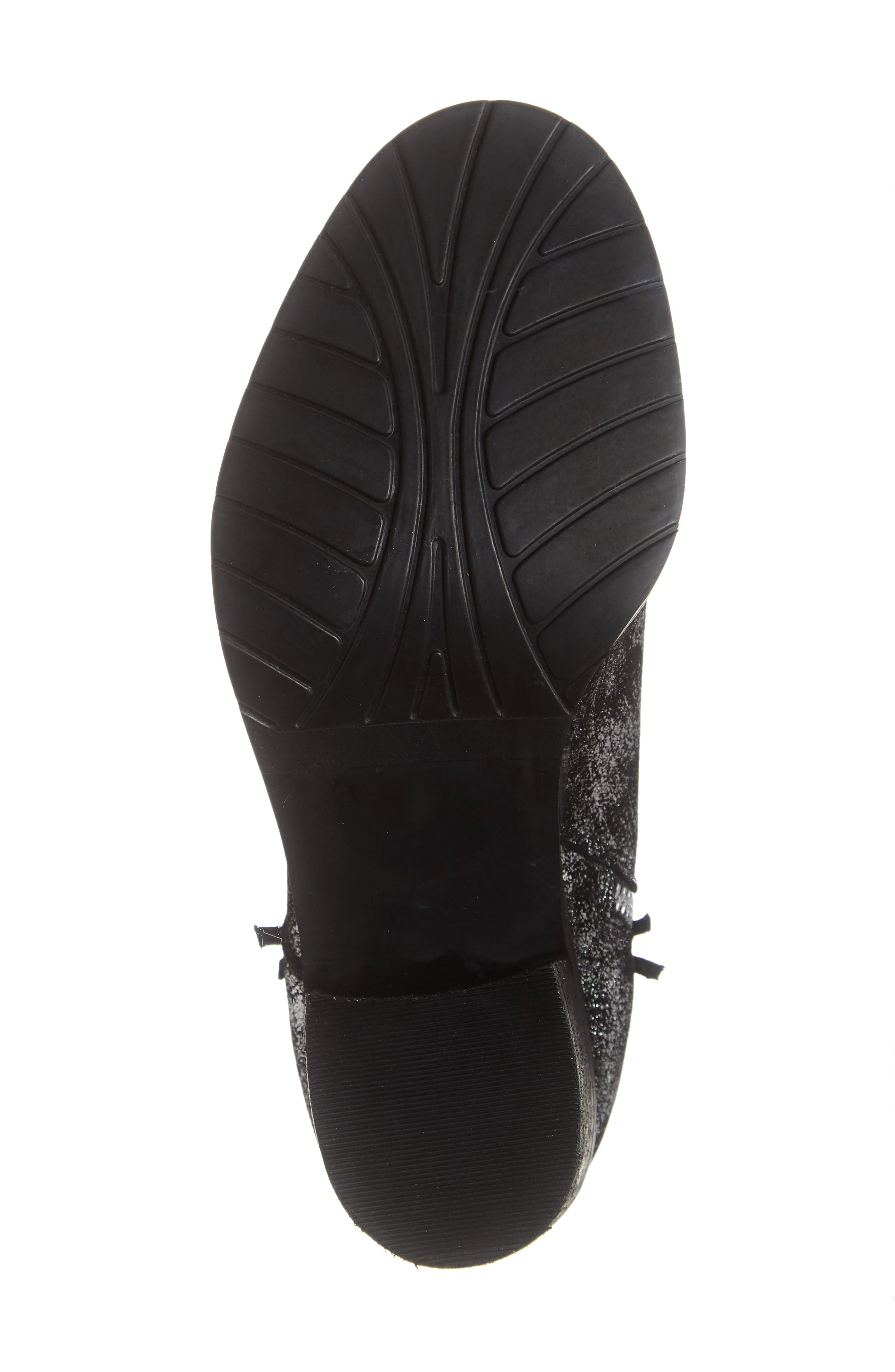 SBICCA,                             Frontage Double Zip Bootie,                             Alternate thumbnail 6, color,                             PEWTER LEATHER