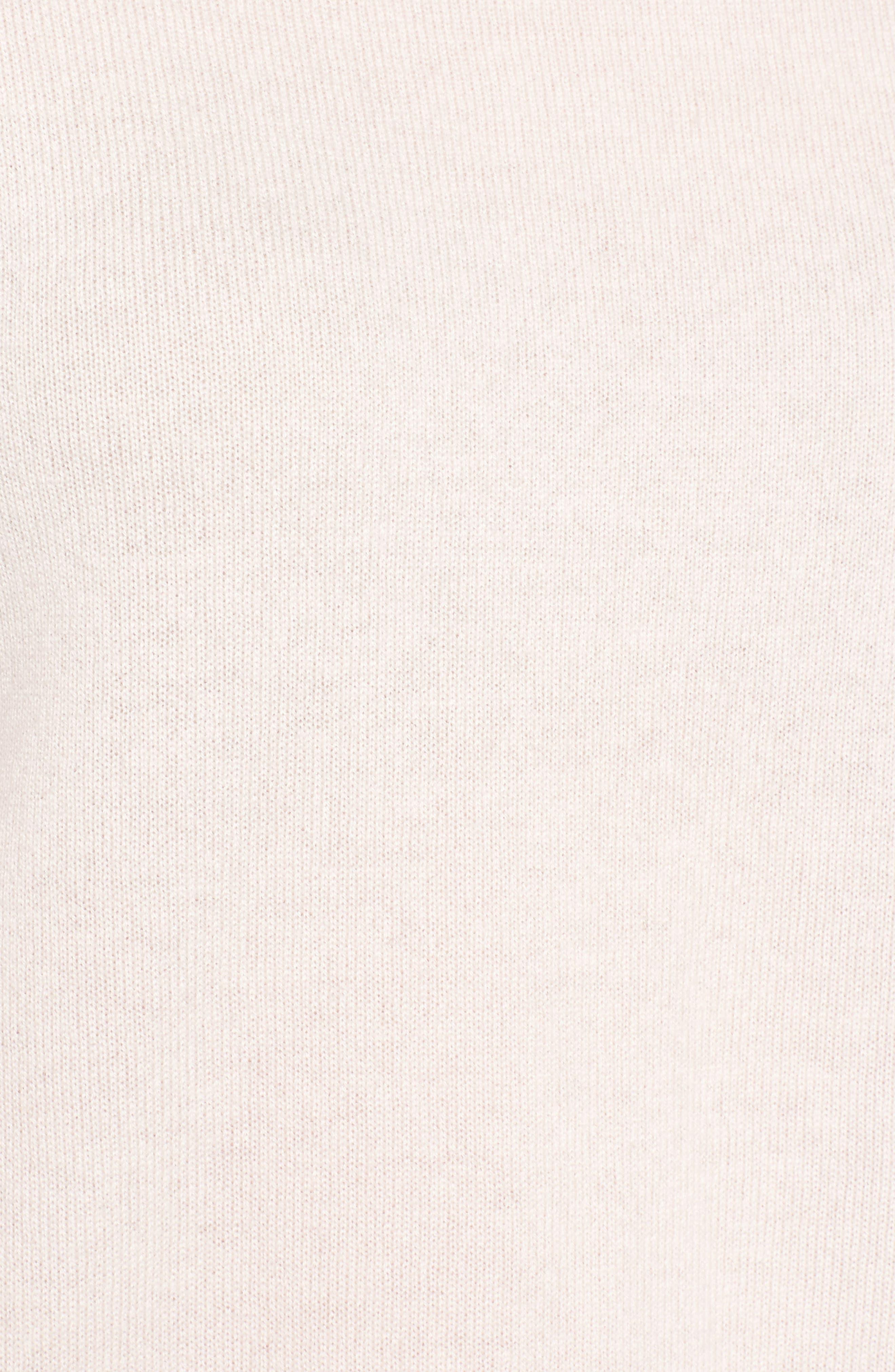 Bateau Neck Cashmere Sweater,                             Alternate thumbnail 5, color,                             680