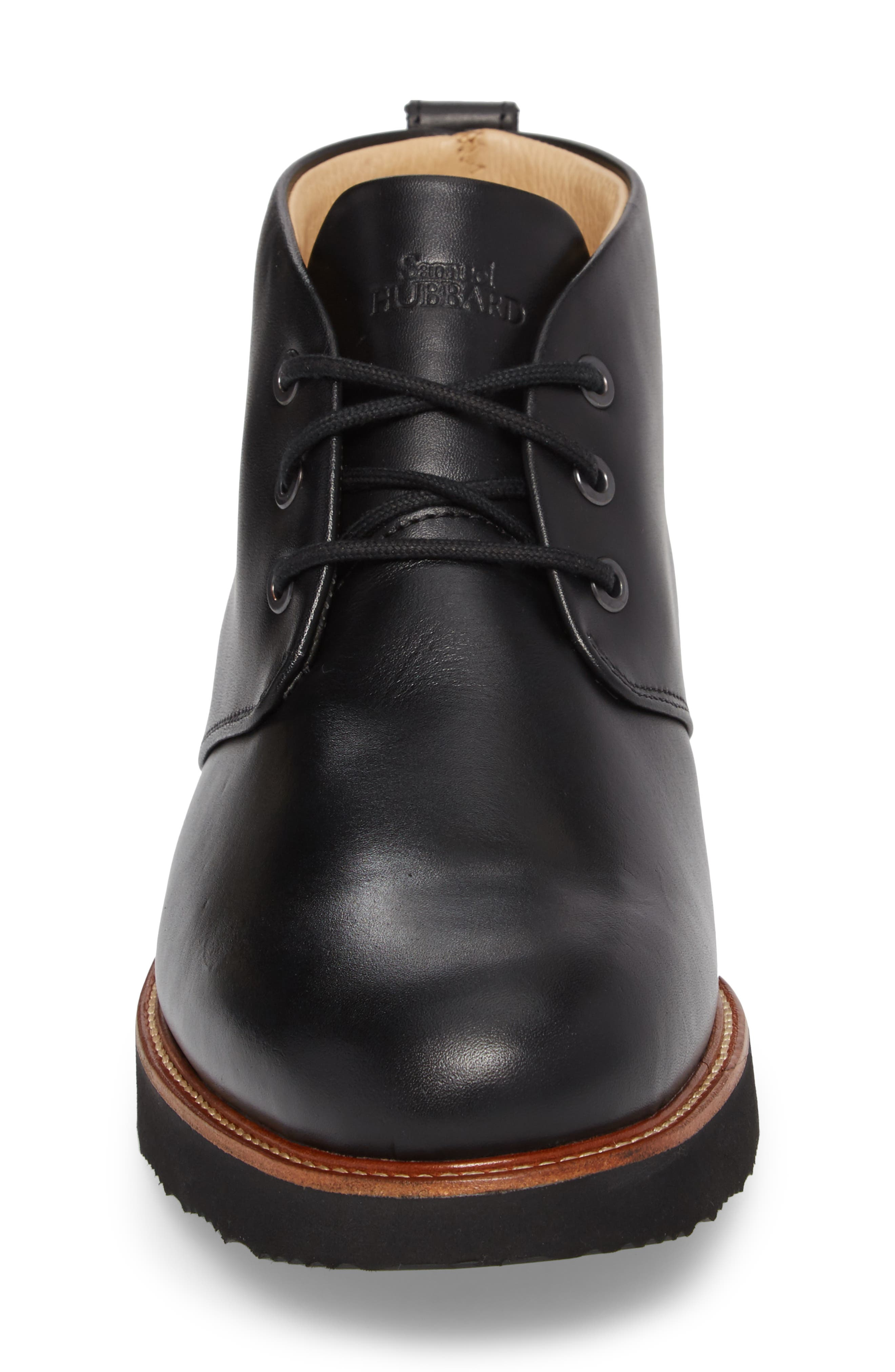 Re-Boot Waterproof Gore-Tex<sup>®</sup> Chukka Boot,                             Alternate thumbnail 4, color,                             BLACK LEATHER