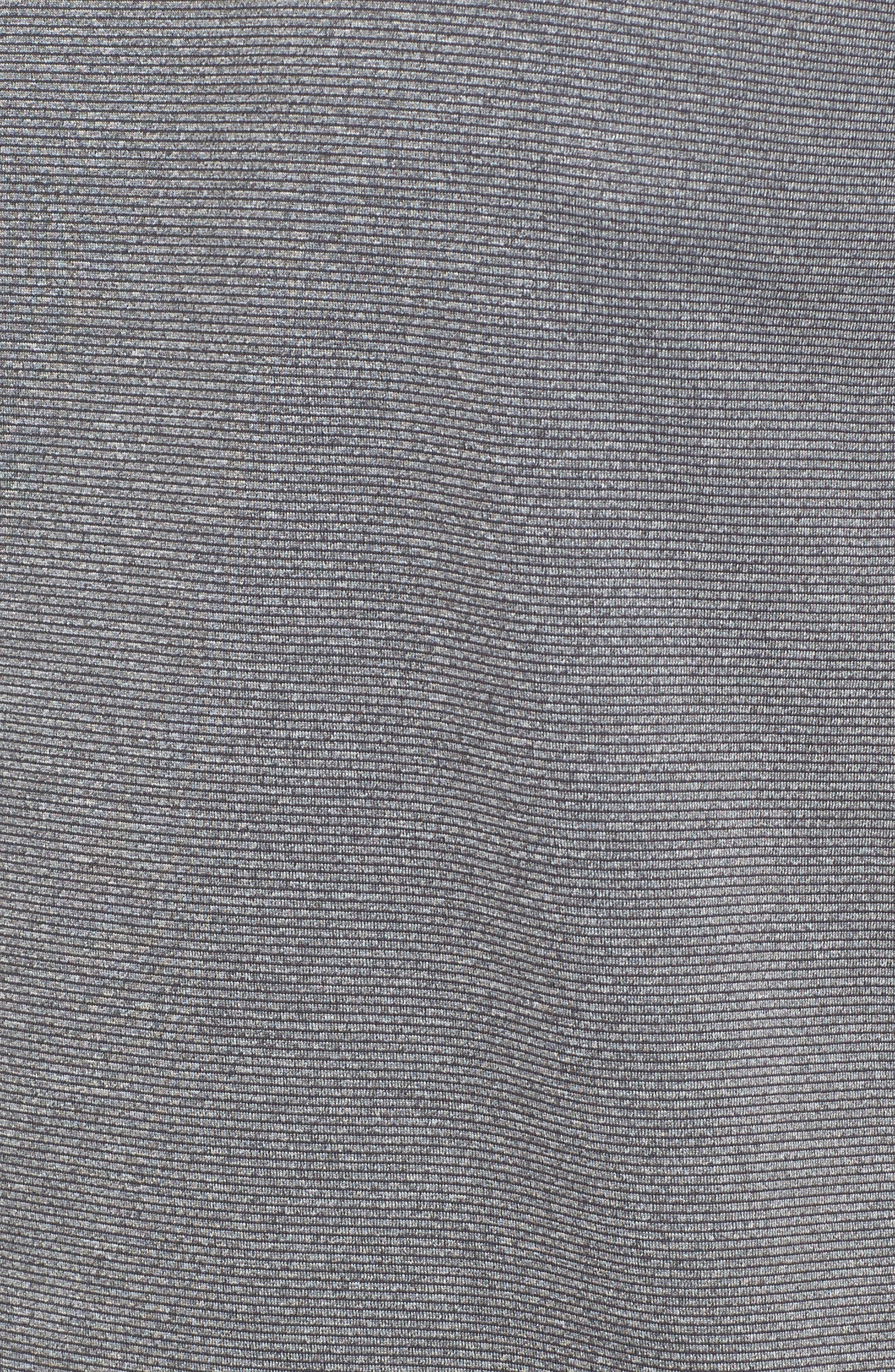 Pinstripe Grommet T-Shirt,                             Alternate thumbnail 5, color,                             020