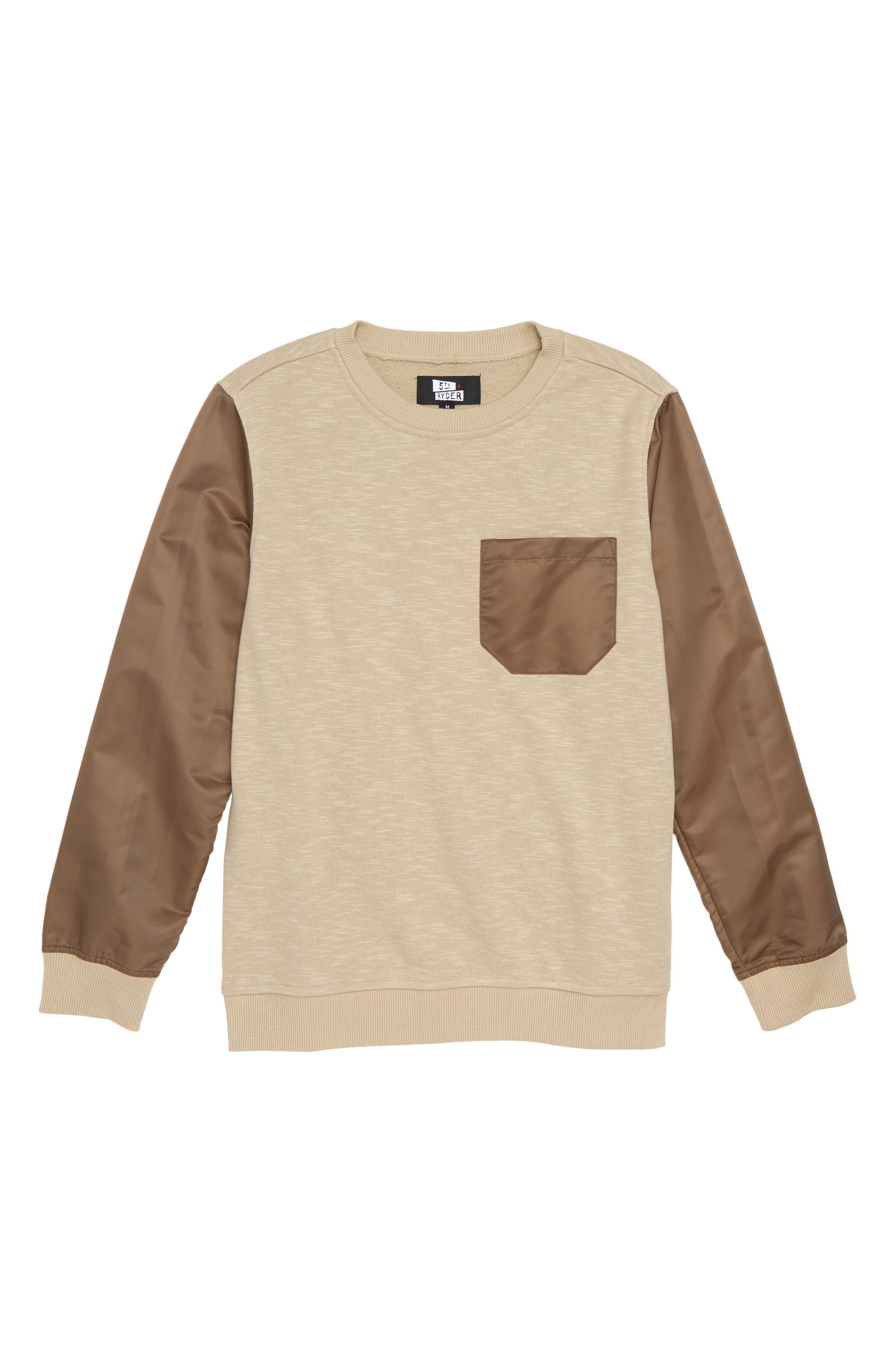 Elwood Pocket Sweatshirt,                         Main,                         color, 250