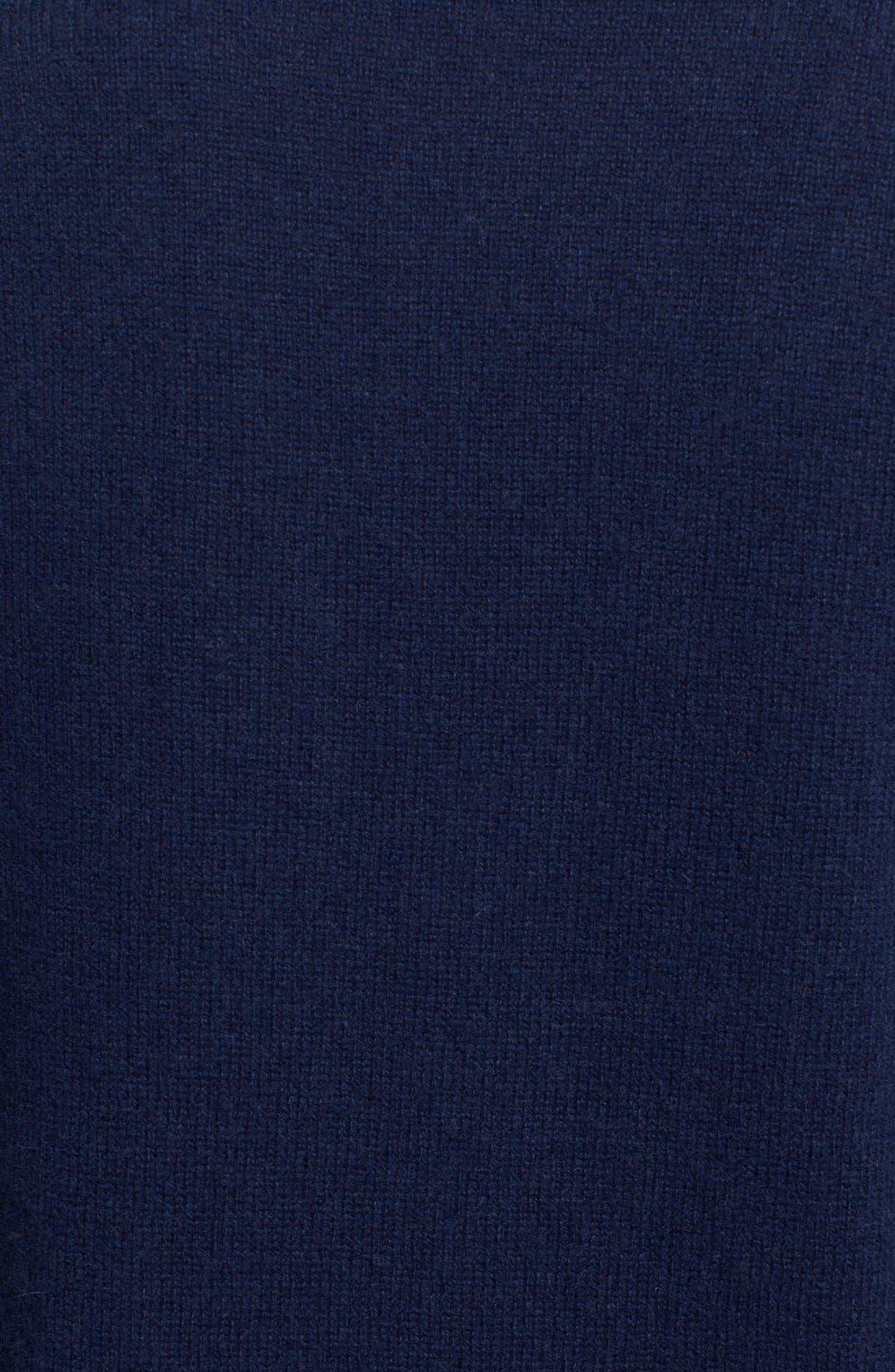 'Asher' V-Neck Cashmere Sweater,                             Alternate thumbnail 3, color,                             404