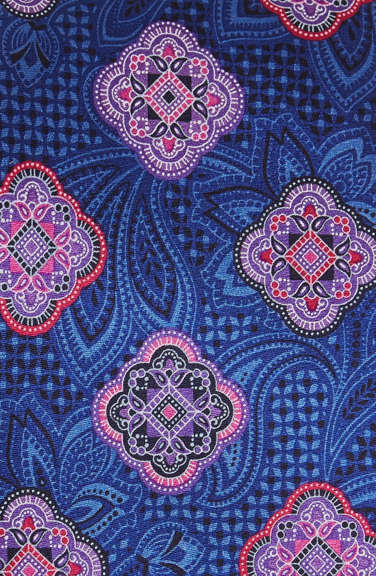 Delpy Medallion Silk Tie,                             Alternate thumbnail 4, color,