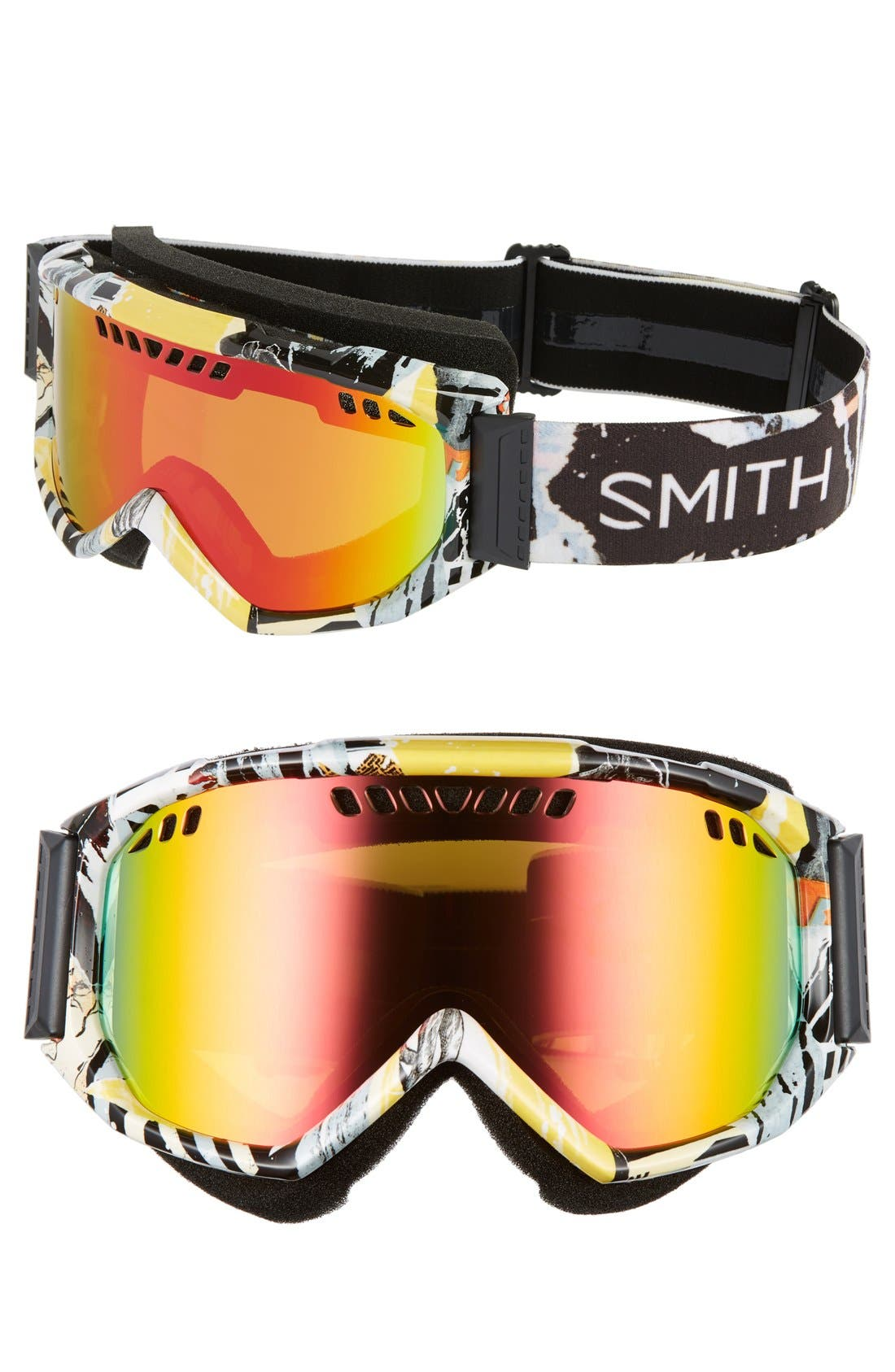 Scope 175mm Snow Goggles,                             Main thumbnail 1, color,                             001