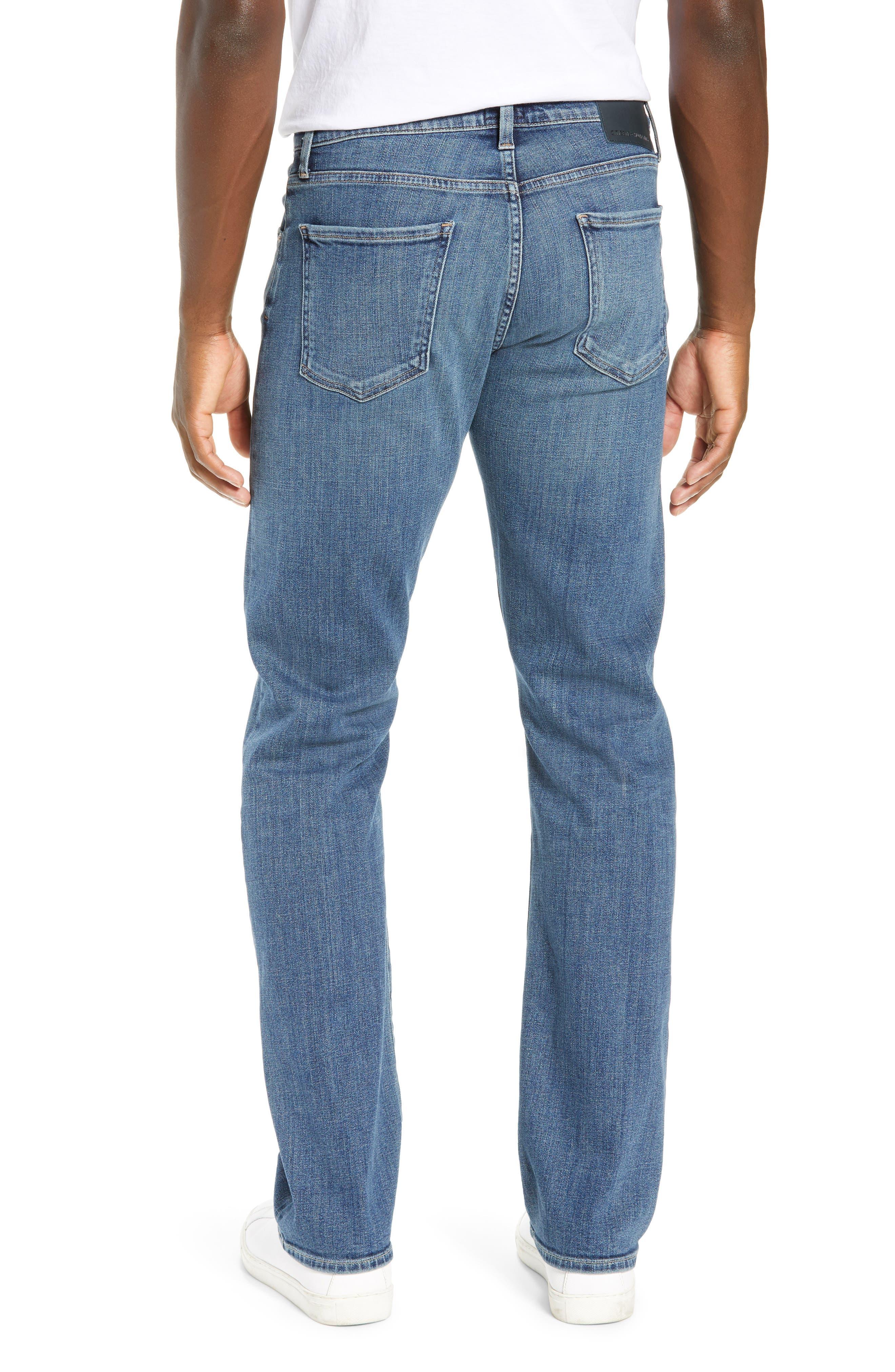 Sid Straight Leg Jeans,                             Alternate thumbnail 2, color,                             AURORA
