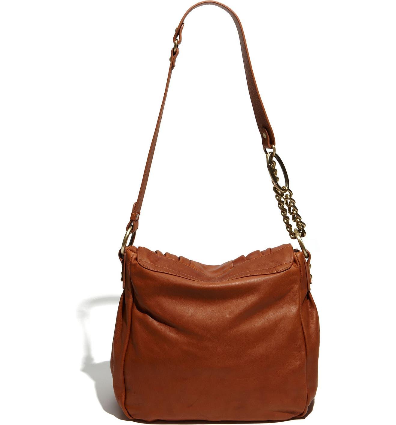 Sabina Leather Flap Shoulder Bag  232f943bb6ce5