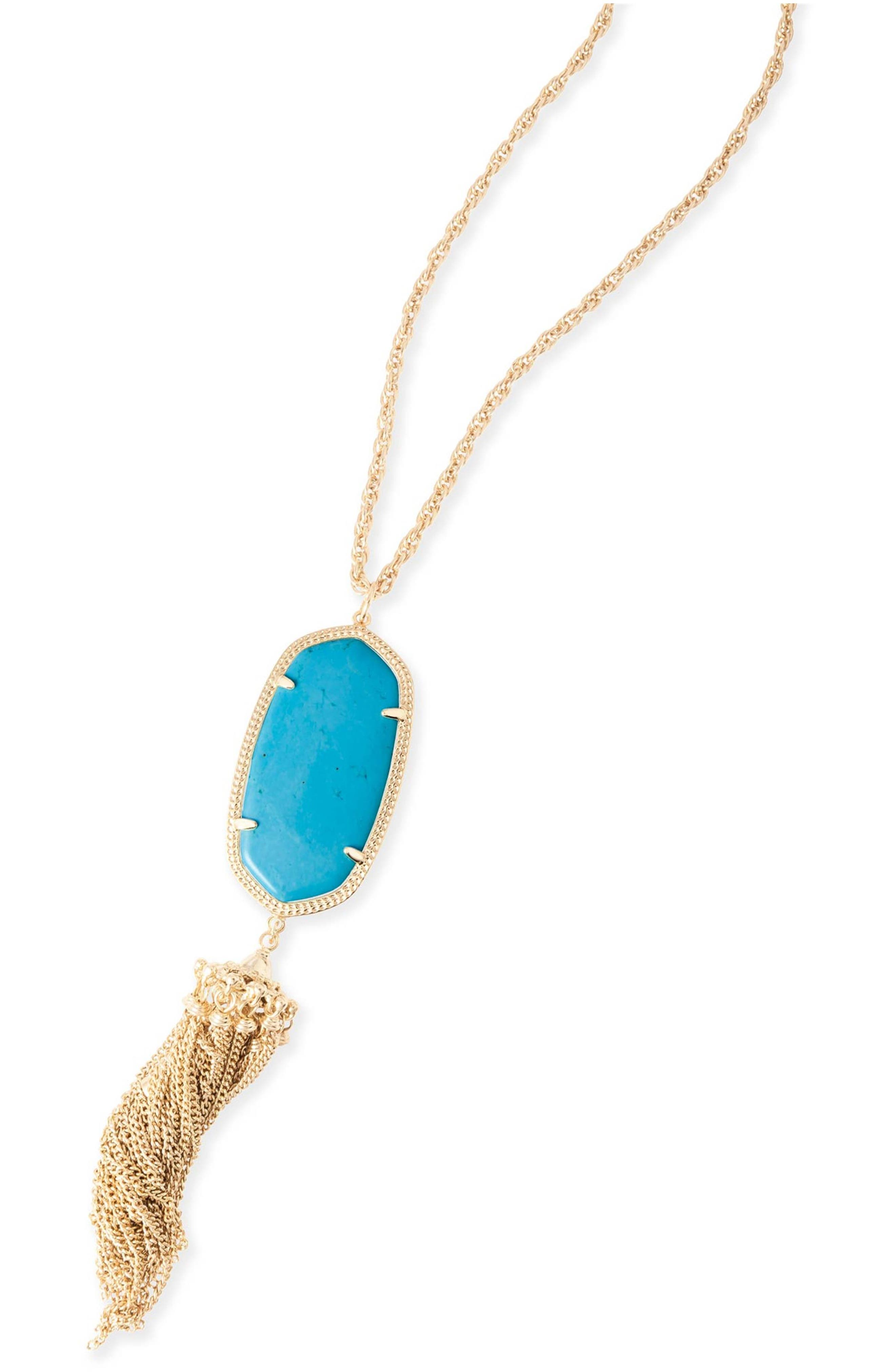 Rayne Stone Tassel Pendant Necklace,                             Alternate thumbnail 278, color,