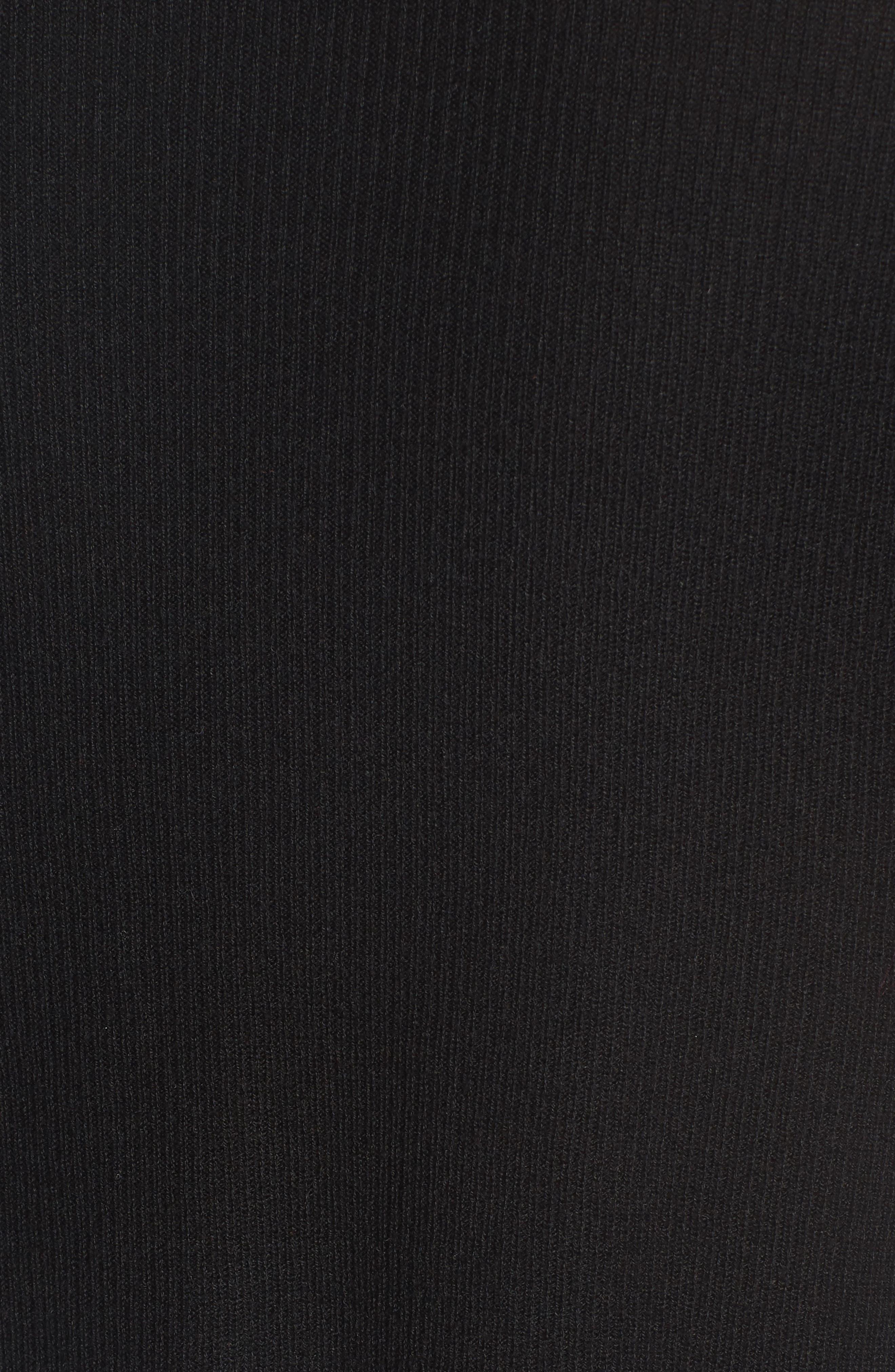 V-Neck Pullover,                             Alternate thumbnail 5, color,                             001