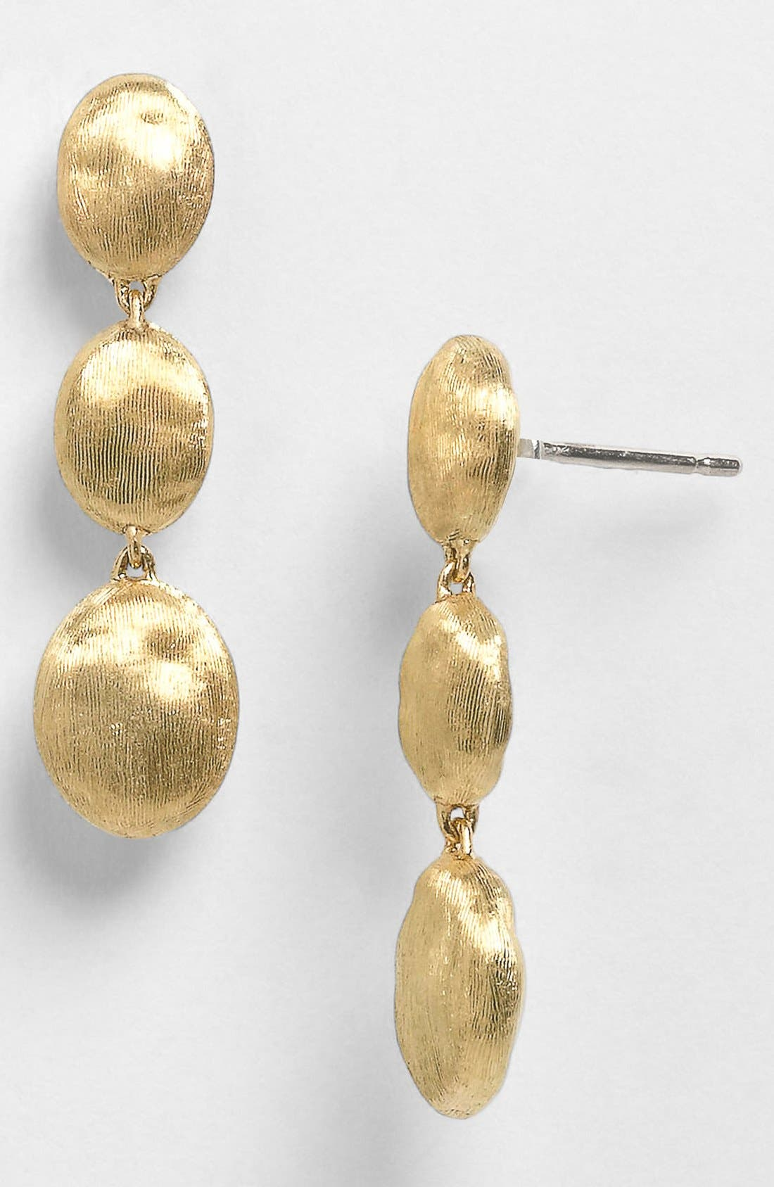 'Siviglia' Drop Earrings,                             Alternate thumbnail 3, color,                             YELLOW GOLD