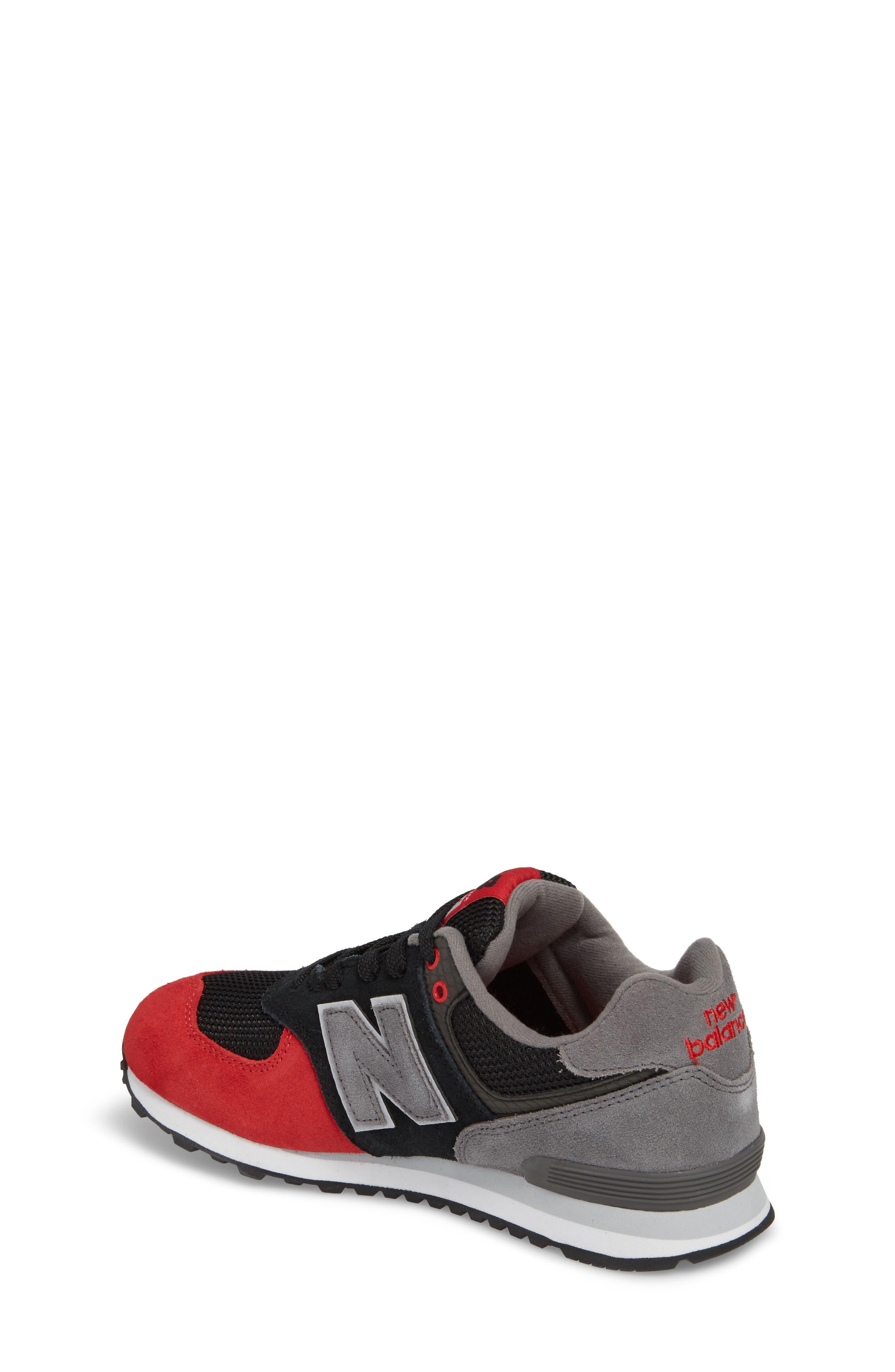 574 Serpent Luxe Sneaker,                             Alternate thumbnail 3, color,