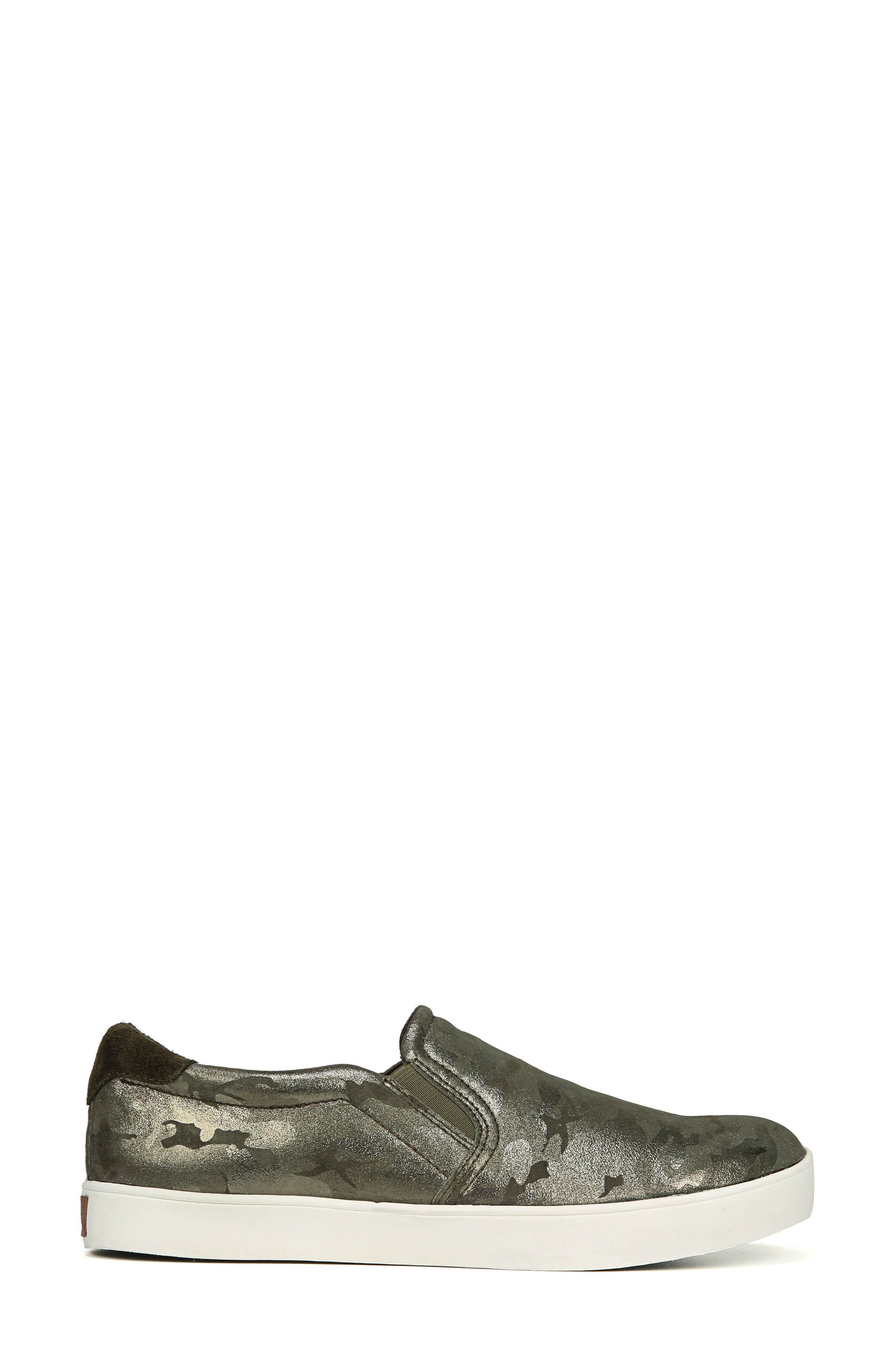 Original Collection 'Scout' Slip On Sneaker,                             Alternate thumbnail 3, color,                             GREEN LEATHER