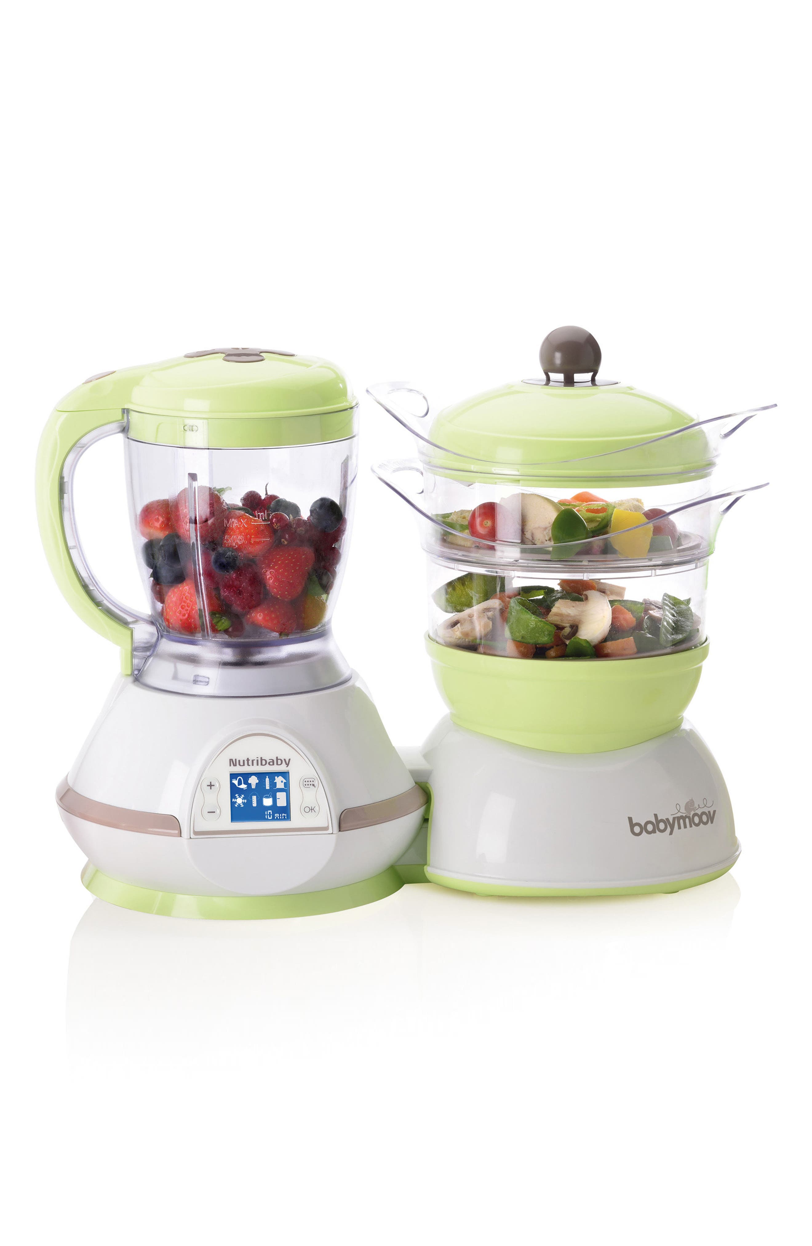 Nutribaby 5-In-1 Baby Food Maker,                             Alternate thumbnail 3, color,                             ZEN