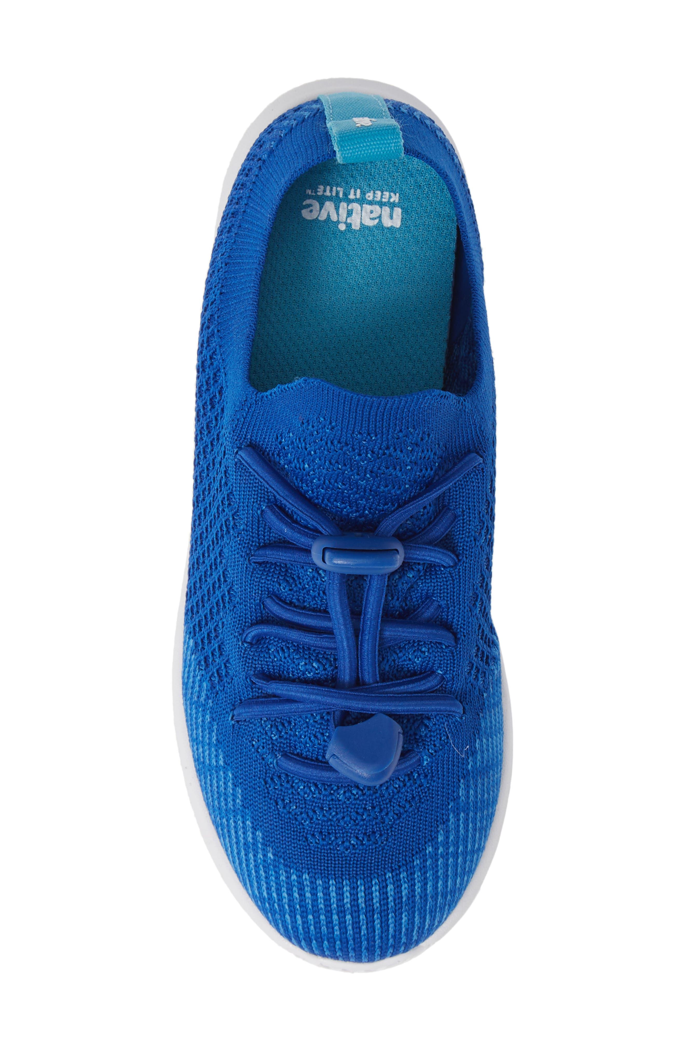 AP Mercury LiteKnit Sneaker,                             Alternate thumbnail 5, color,                             VICTORIA BLUE/ SHELL WHITE