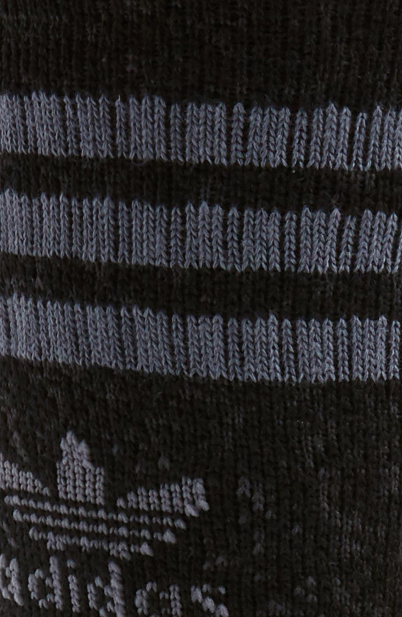 Roller Crew Socks,                             Alternate thumbnail 2, color,                             001