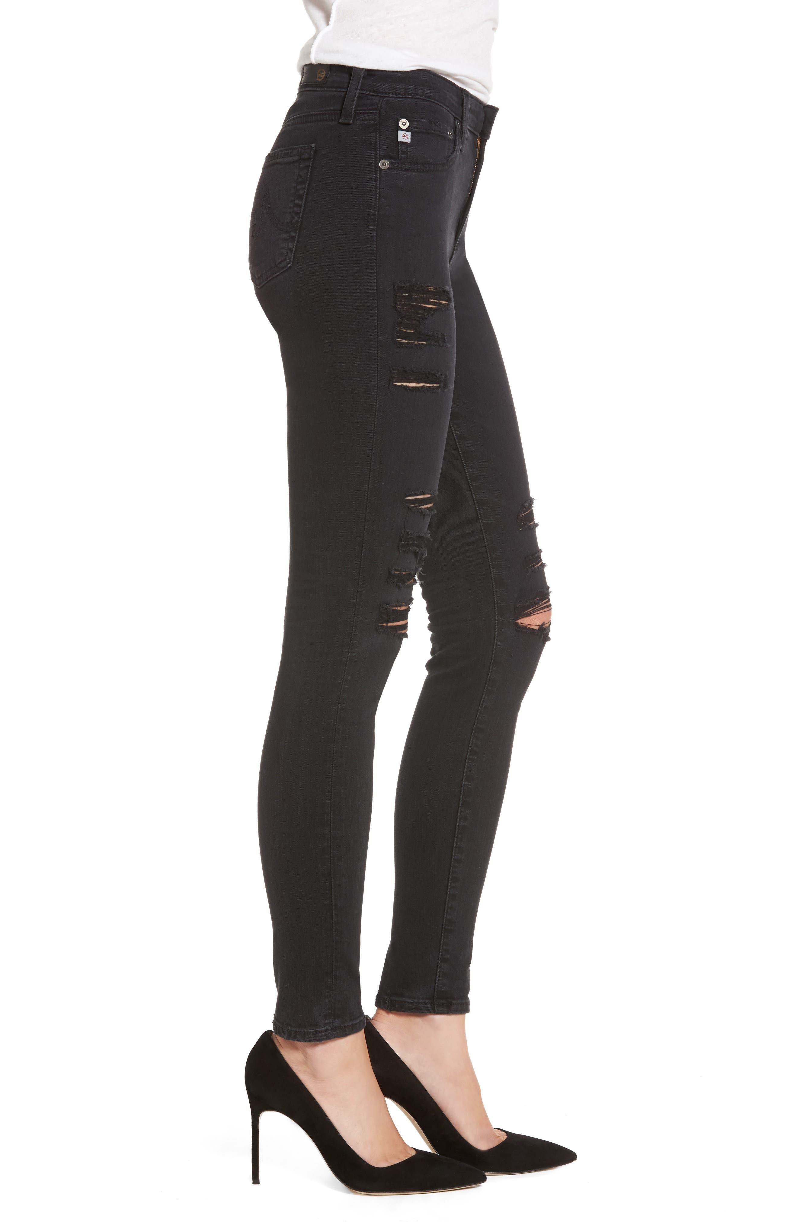 'The Legging' Ankle Super Skinny Jeans,                             Alternate thumbnail 12, color,
