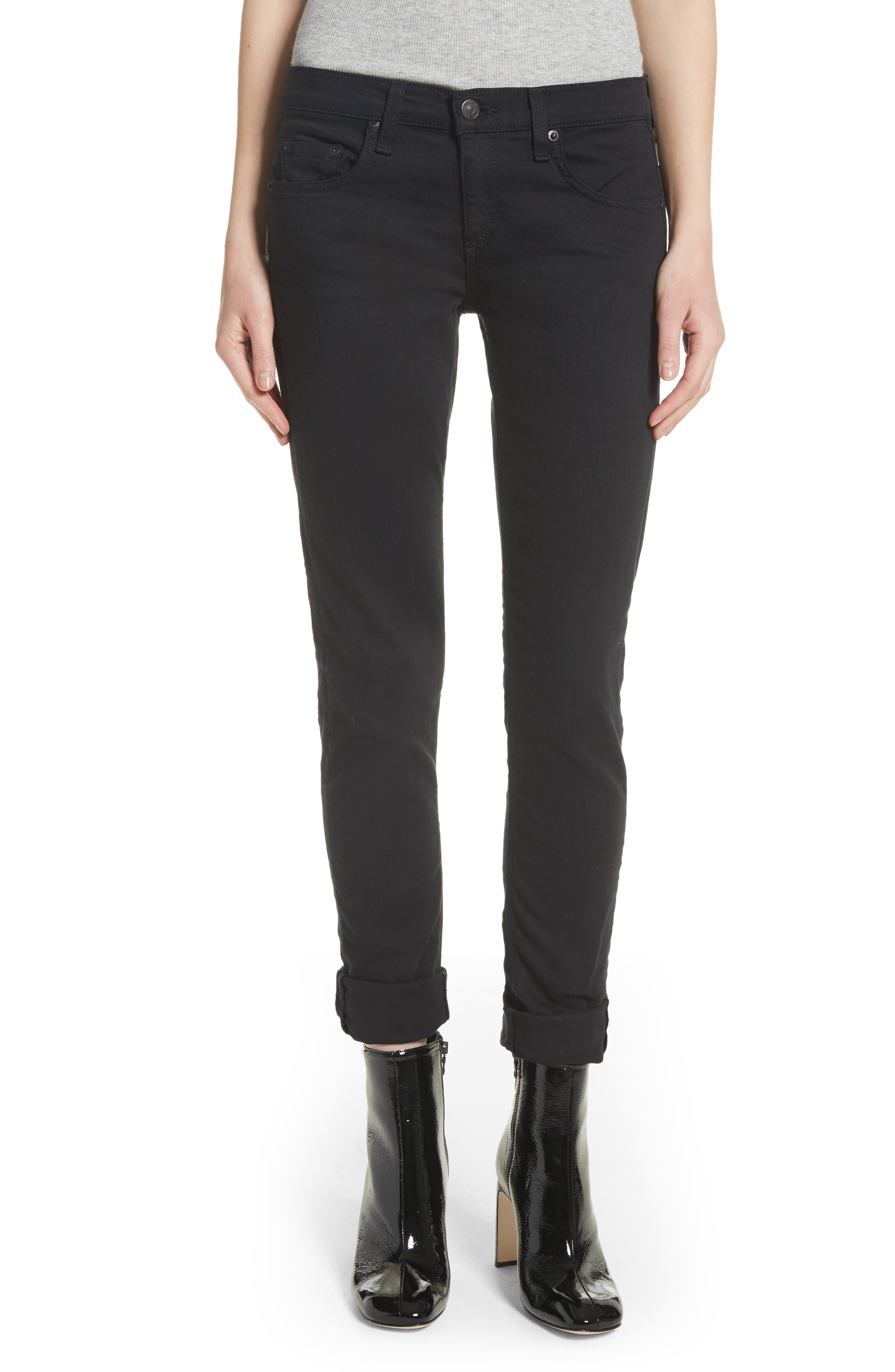 JEAN 'The Dre' Skinny Jeans,                             Main thumbnail 1, color,                             007