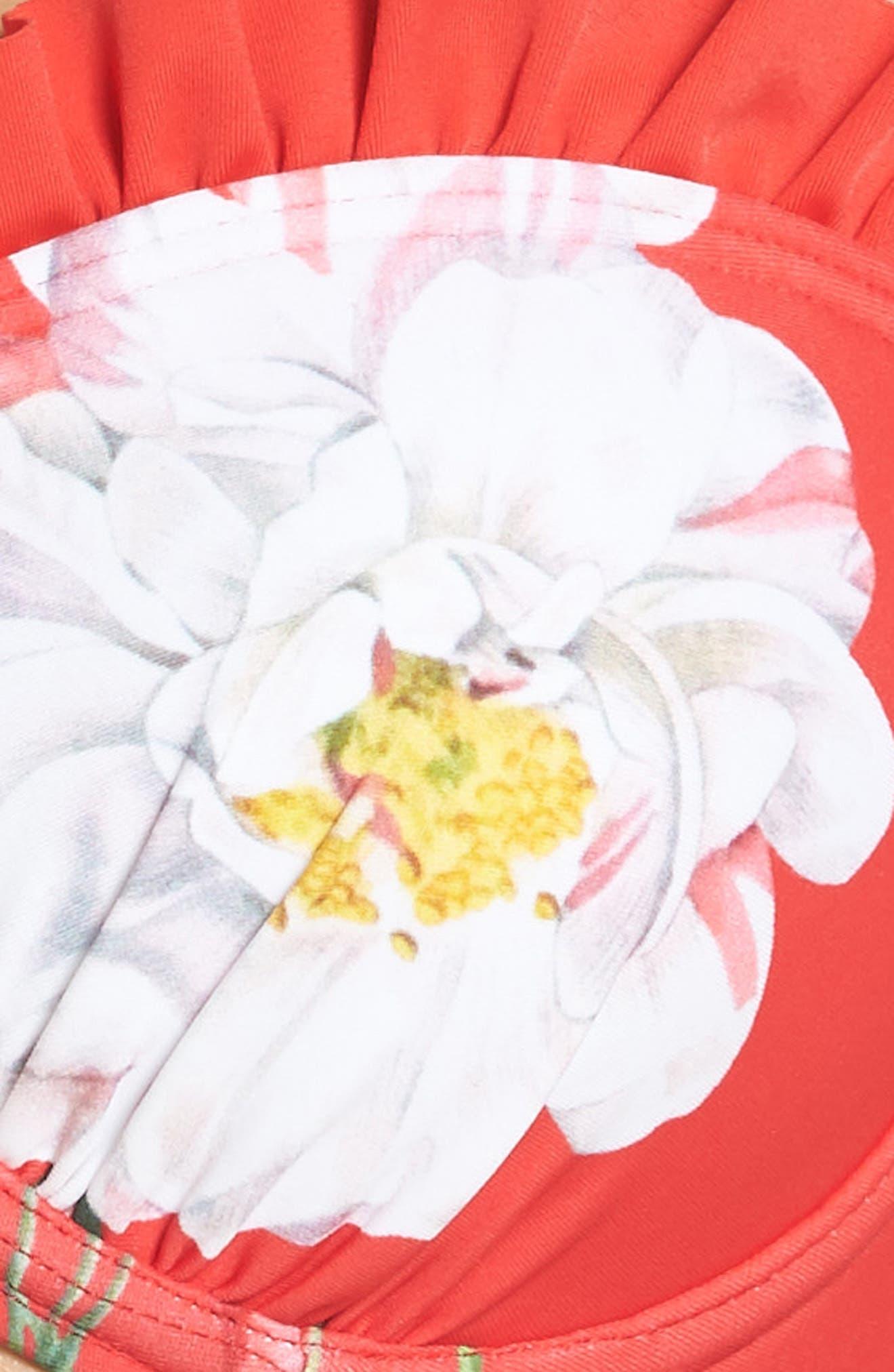 TED BAKER LONDON,                             Cesmino Iguazu Frill Underwire Bikini Top,                             Alternate thumbnail 6, color,                             611
