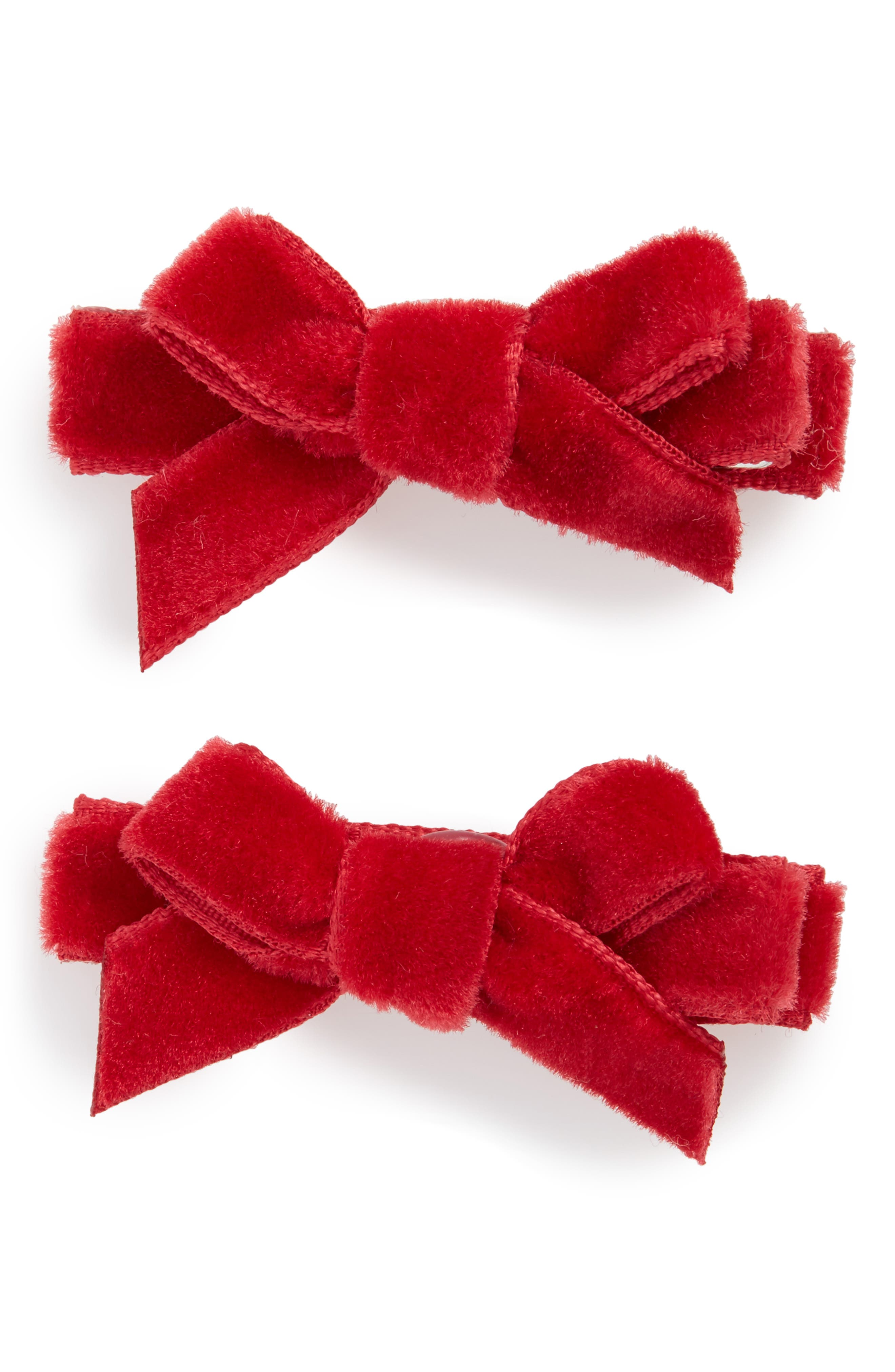 2-Pack Bow Clips,                             Main thumbnail 2, color,
