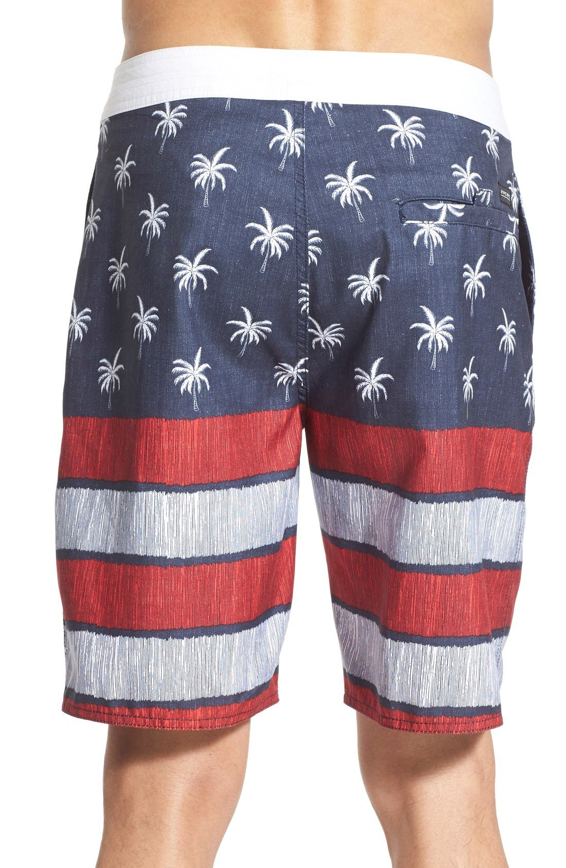 'Independence' Board Shorts,                             Alternate thumbnail 2, color,                             410