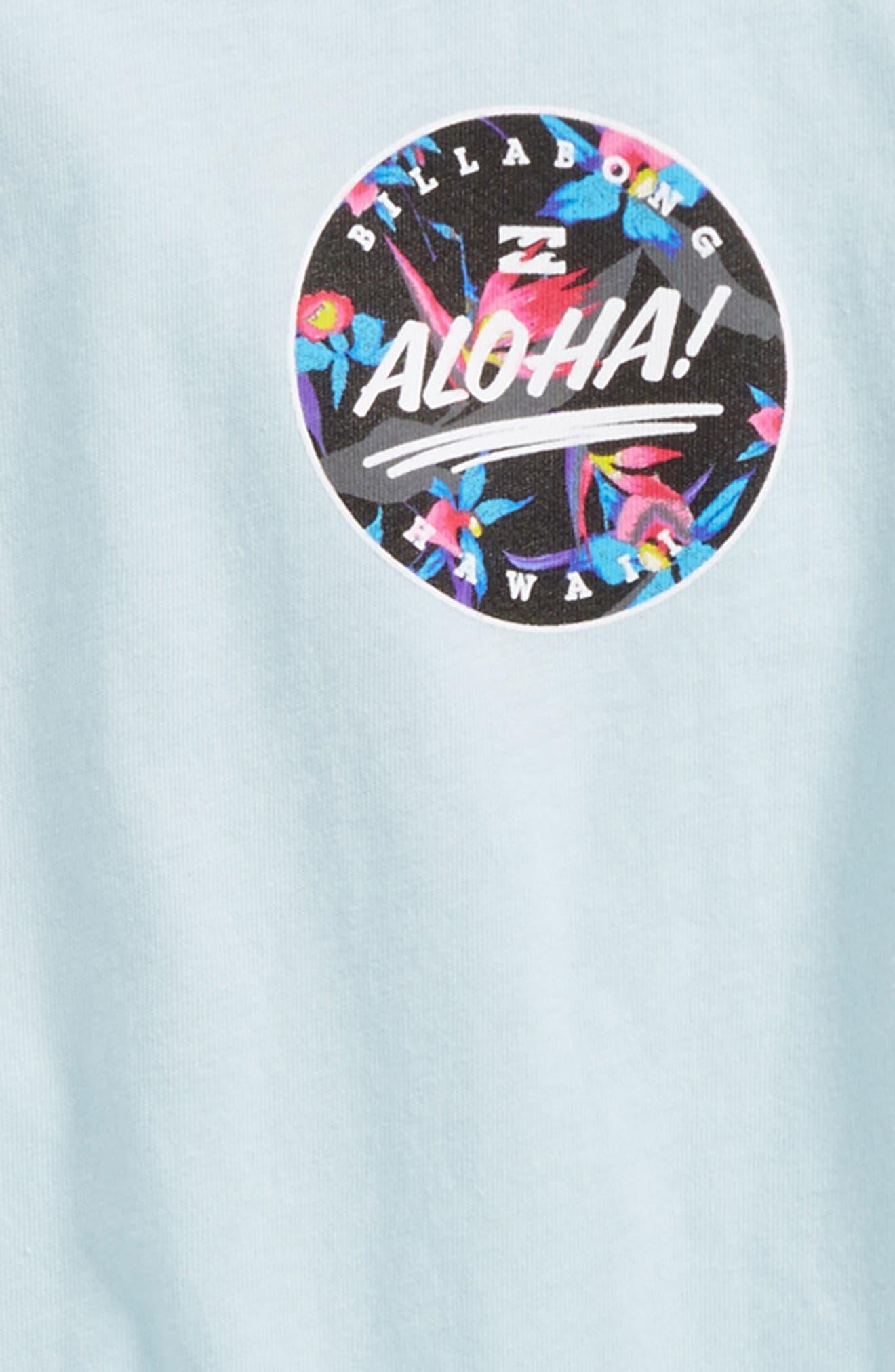 Hi Aloha T-Shirt,                             Alternate thumbnail 3, color,                             450