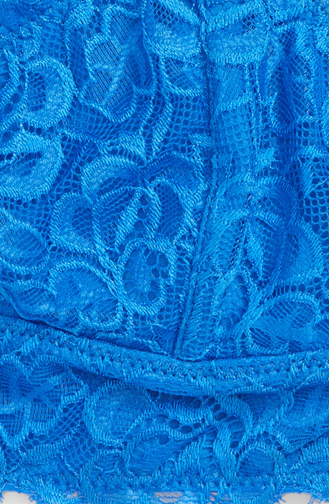 Lace Bralette,                             Alternate thumbnail 2, color,                             BLUE PALACE